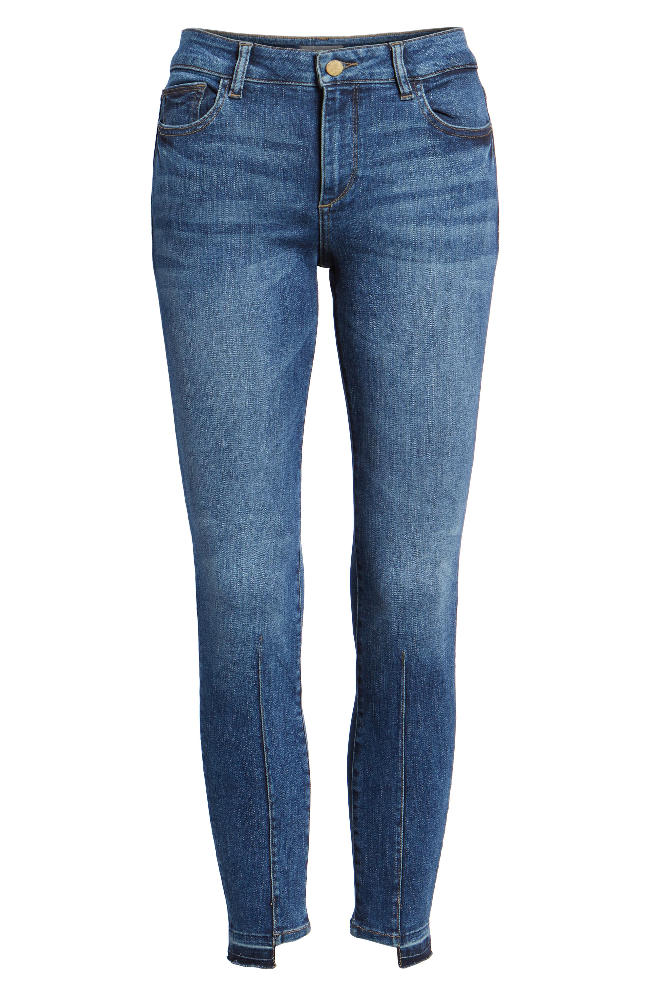 Florence Instasculpt Crop Skinny Jeans,                             Alternate thumbnail 7, color,                             KODY