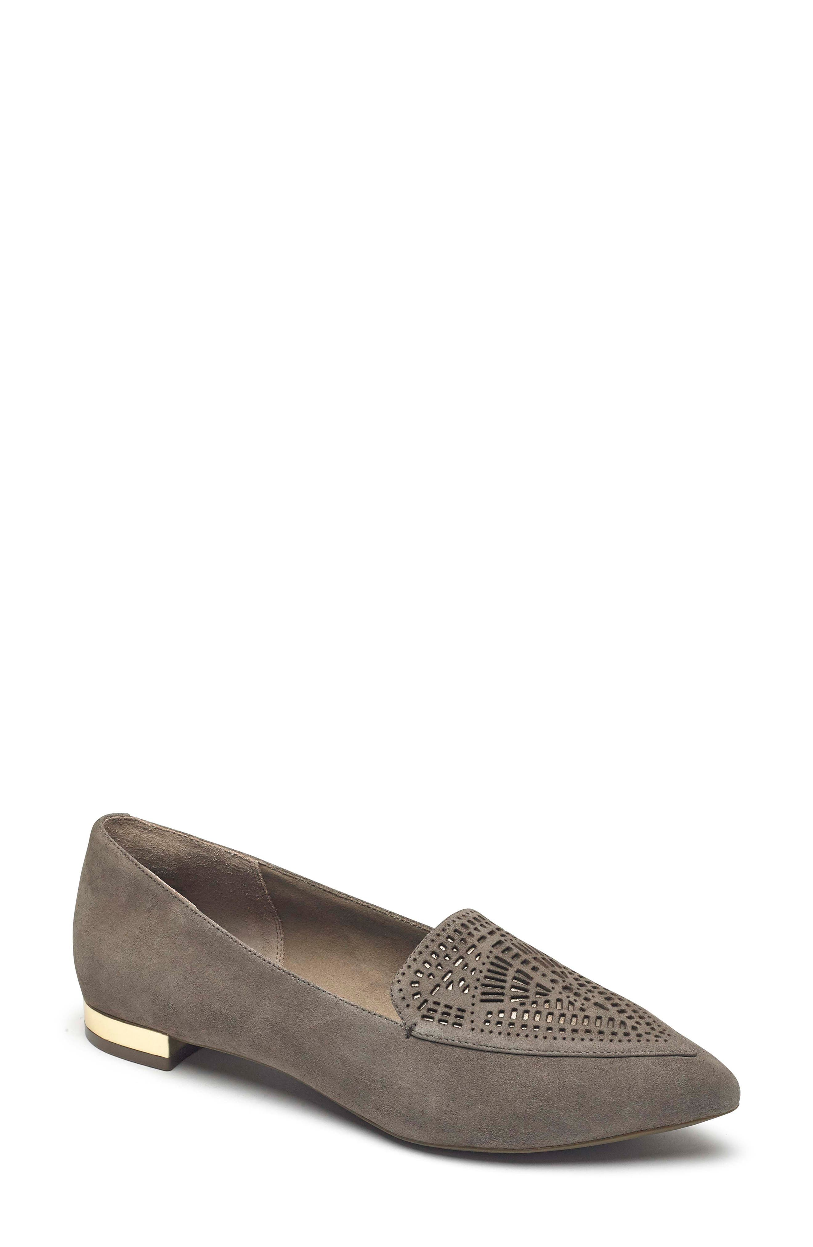 Total Motion Adelyn Loafer,                             Main thumbnail 1, color,                             WARM IRON