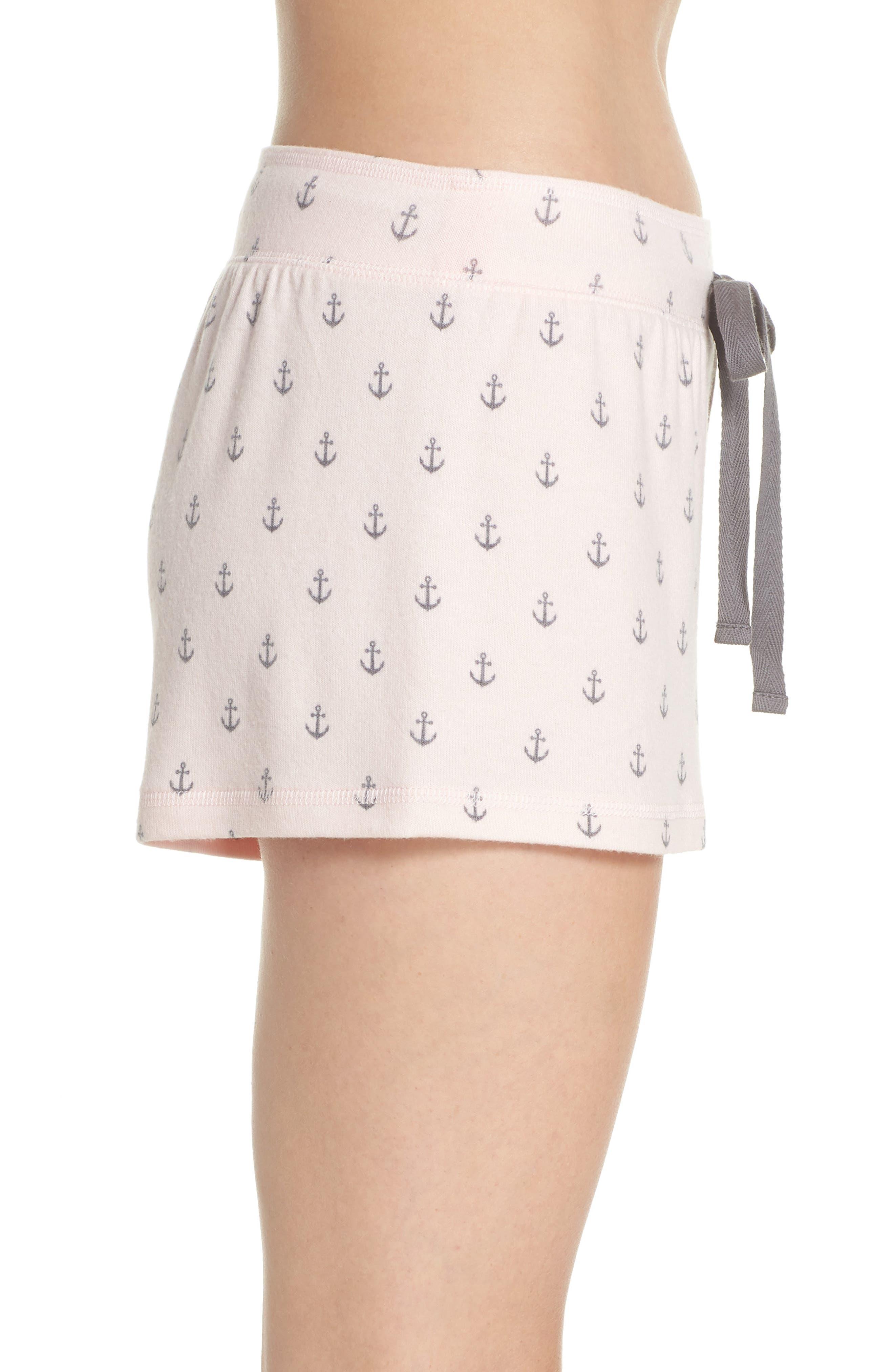 Peachy Pajama Shorts,                             Alternate thumbnail 9, color,