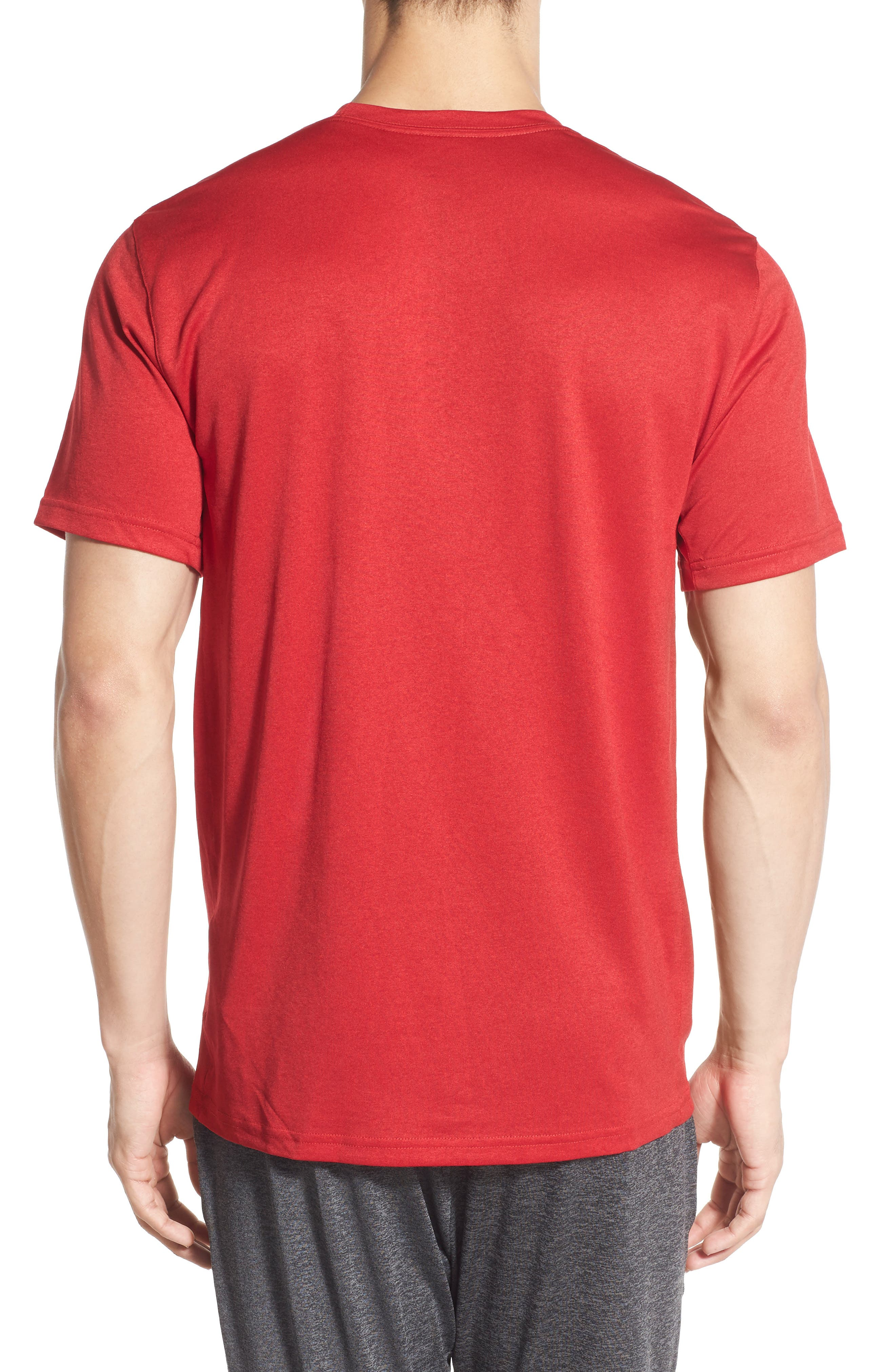 Legend 2.0 Dri-FIT Graphic T-Shirt,                             Main thumbnail 1, color,                             GYM RED/BLACK/BLACK