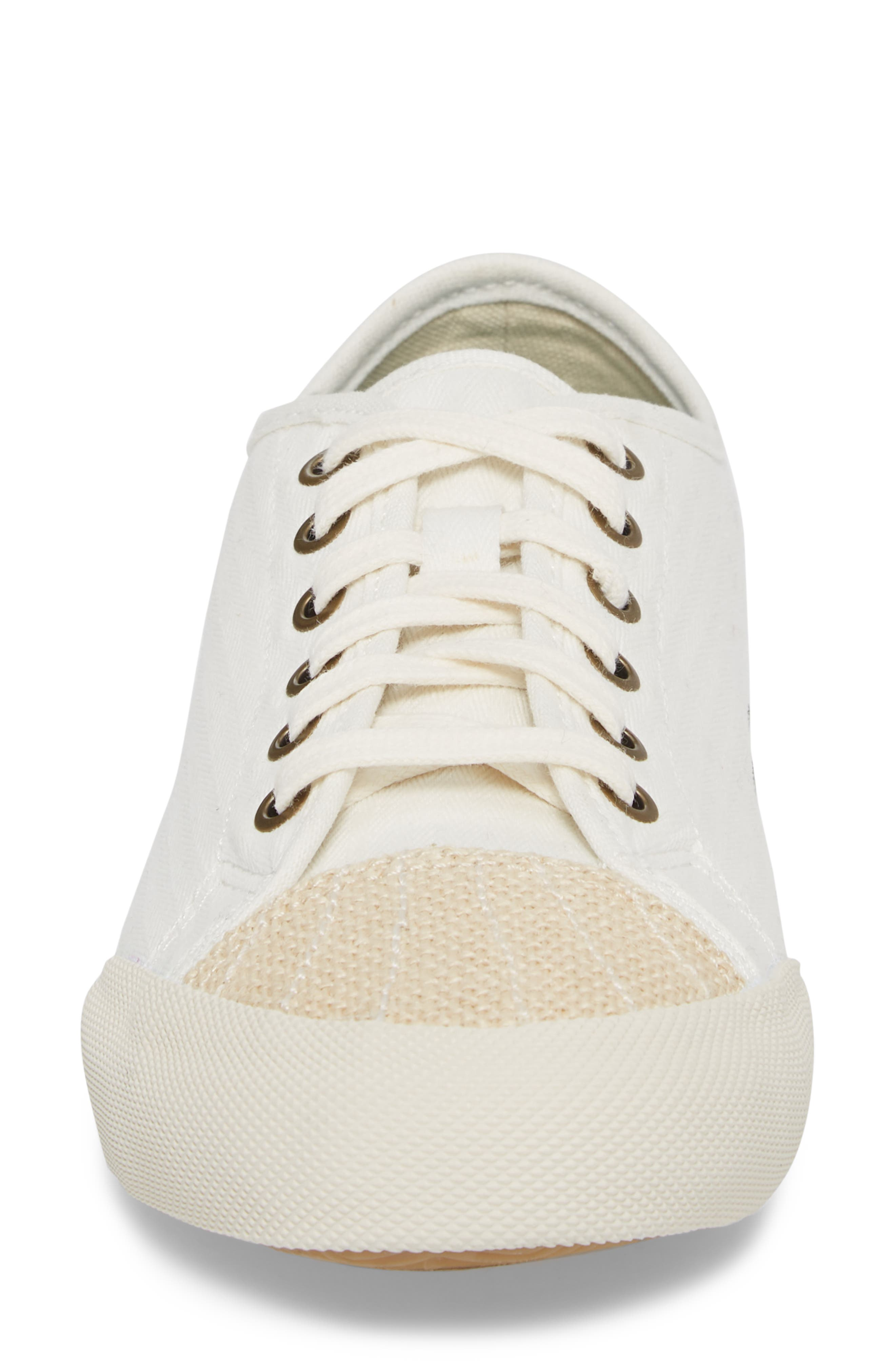 Army Issue Low Top Sneaker,                             Alternate thumbnail 4, color,                             BLEACH