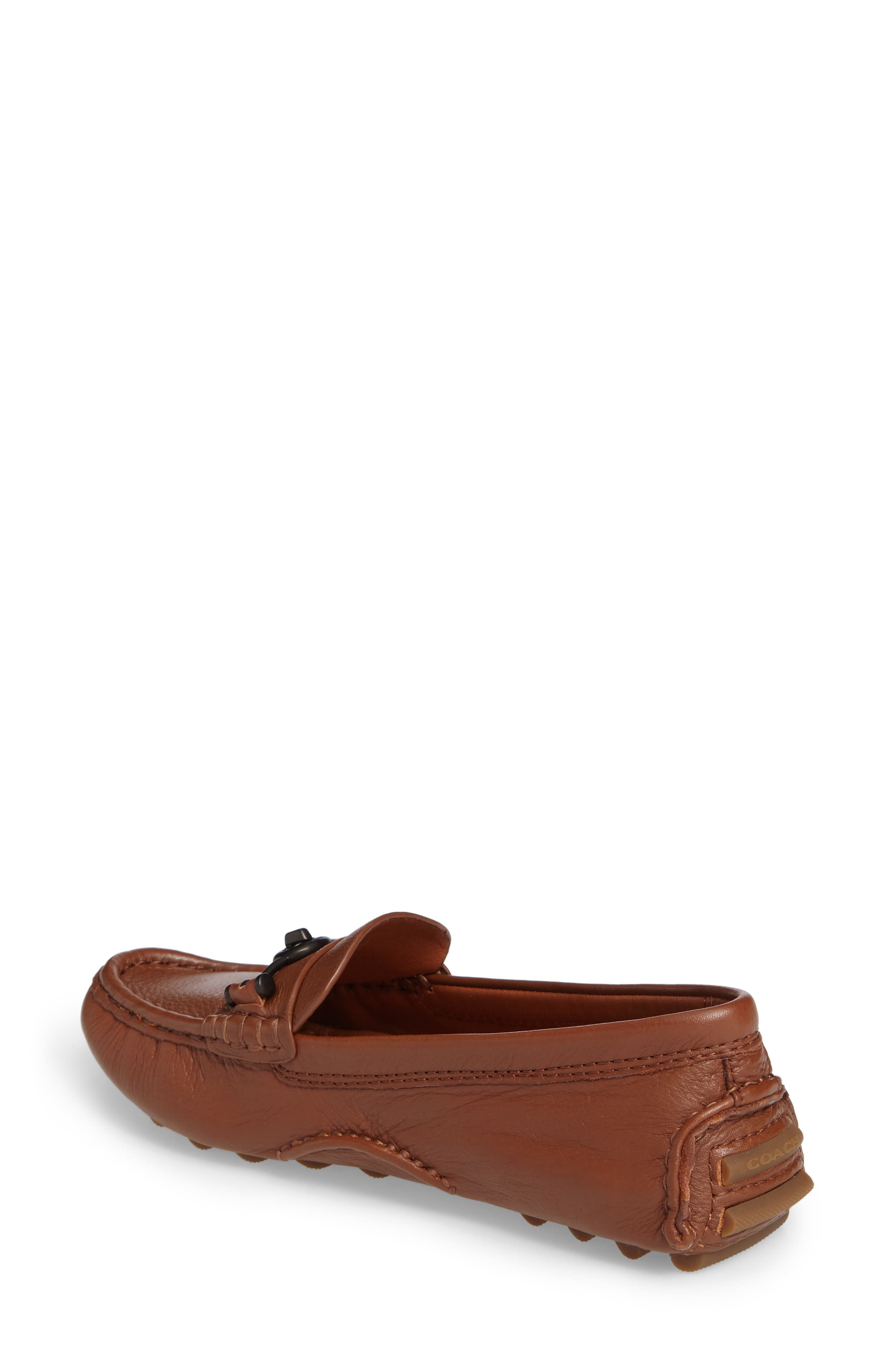 Crosby Driver Loafer,                             Alternate thumbnail 2, color,                             SADDLE LEATHER