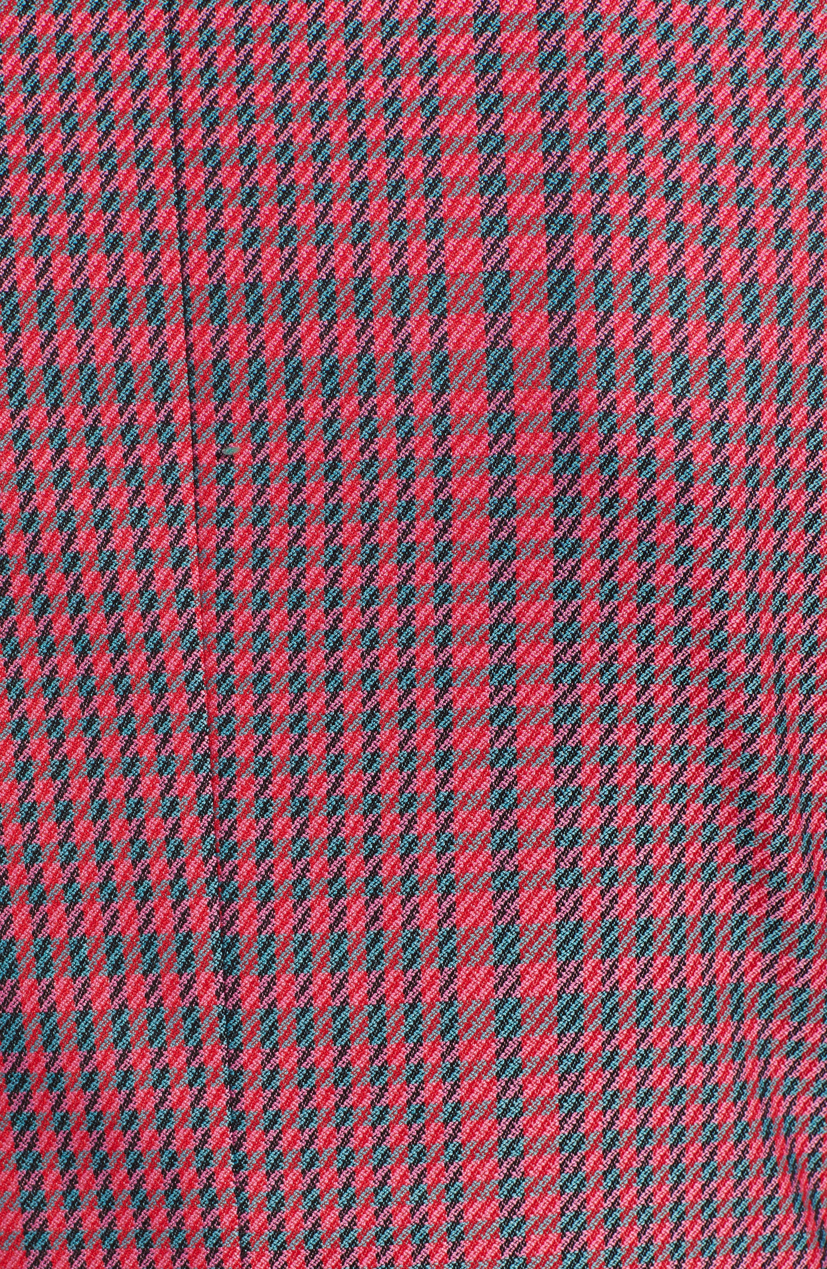 Plaid Blazer,                             Alternate thumbnail 7, color,                             PINK SIMONE PLAID