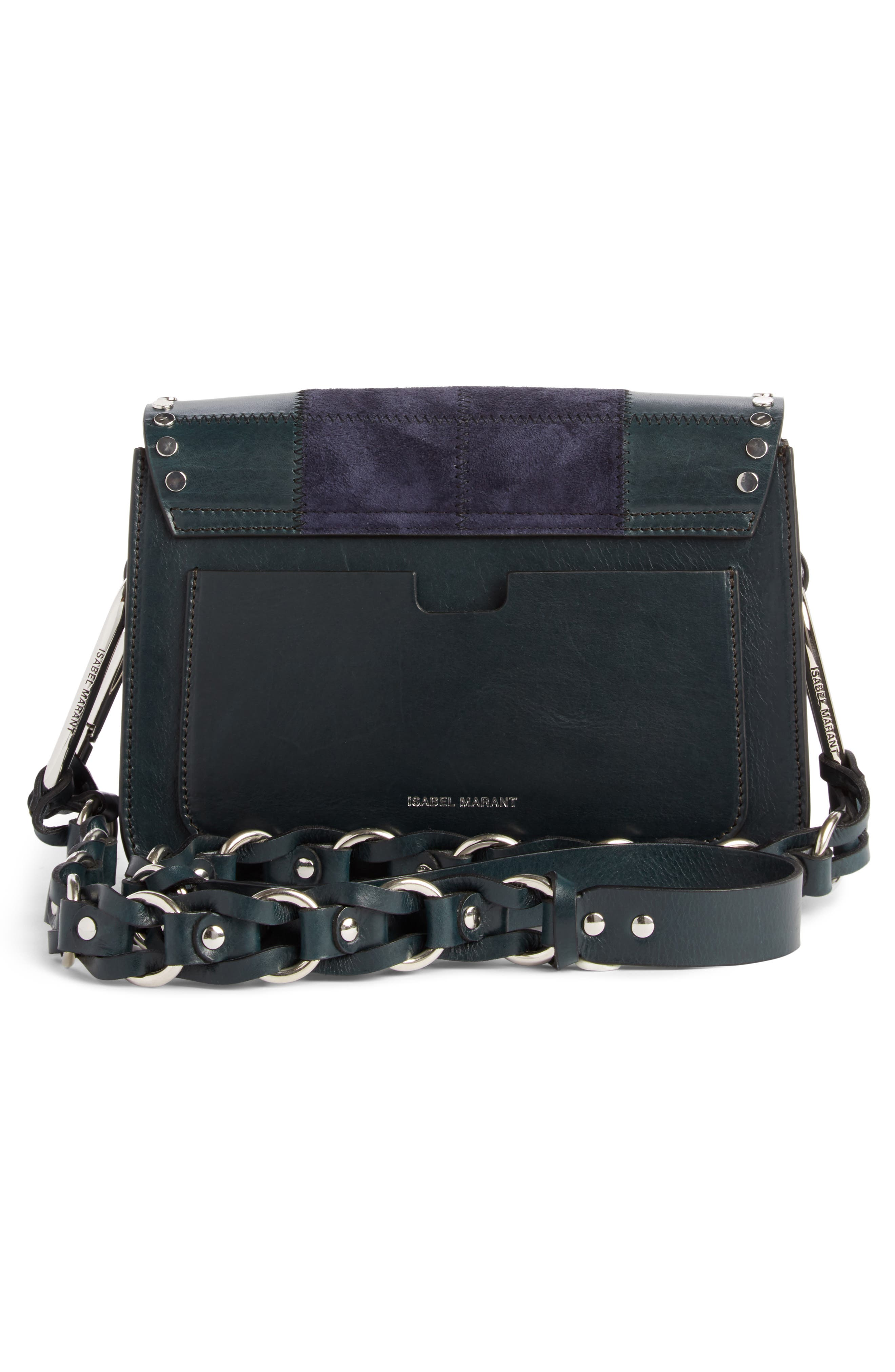 Calibar Patchwork Leather Crossbody Bag,                             Alternate thumbnail 2, color,