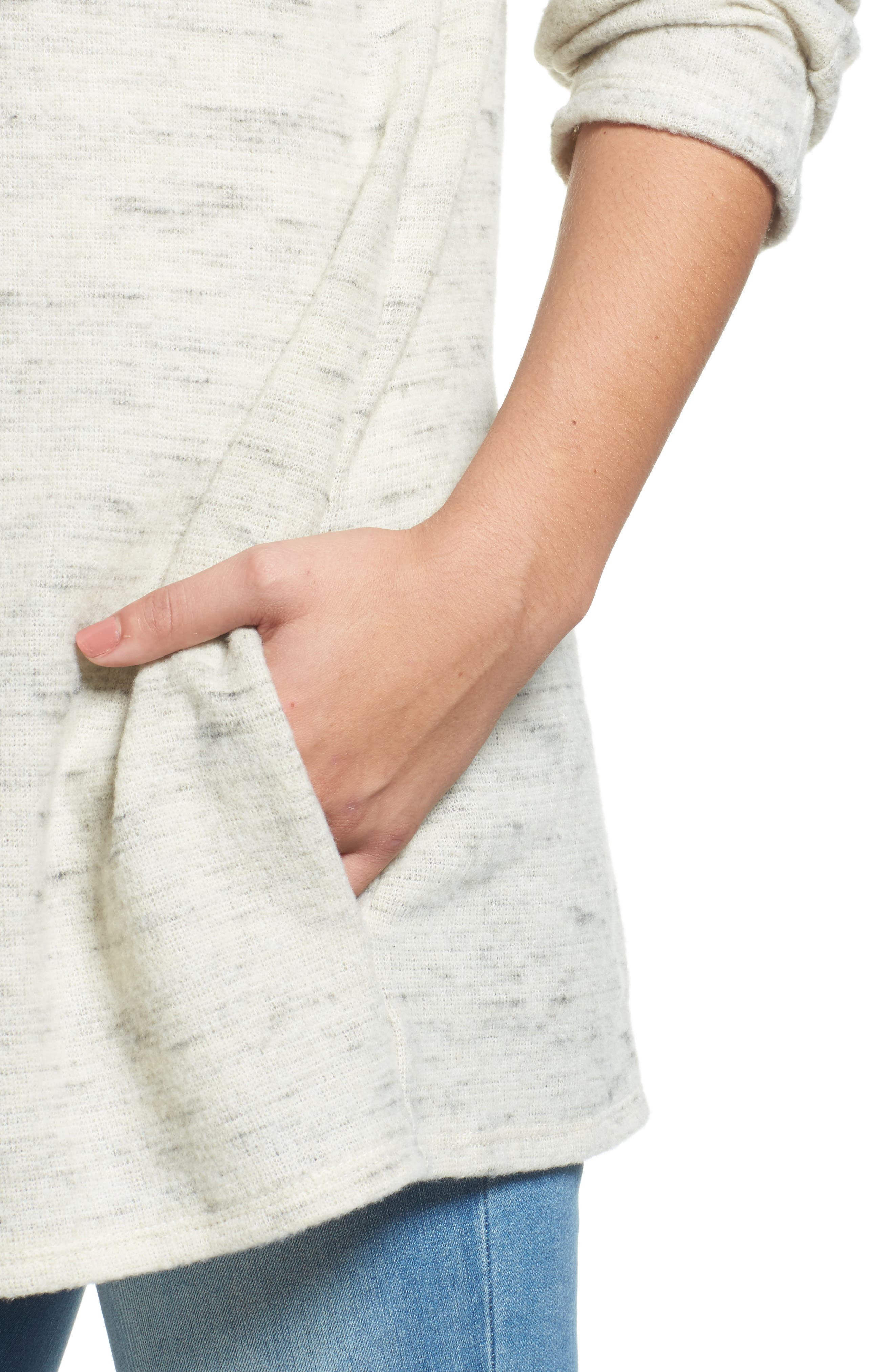 Caslon Open Knit Cardigan,                             Alternate thumbnail 17, color,