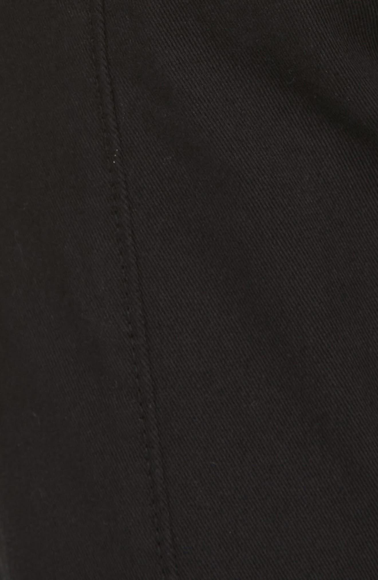 JOIE,                             Adorea Skinny Pants,                             Alternate thumbnail 6, color,                             CAVIAR