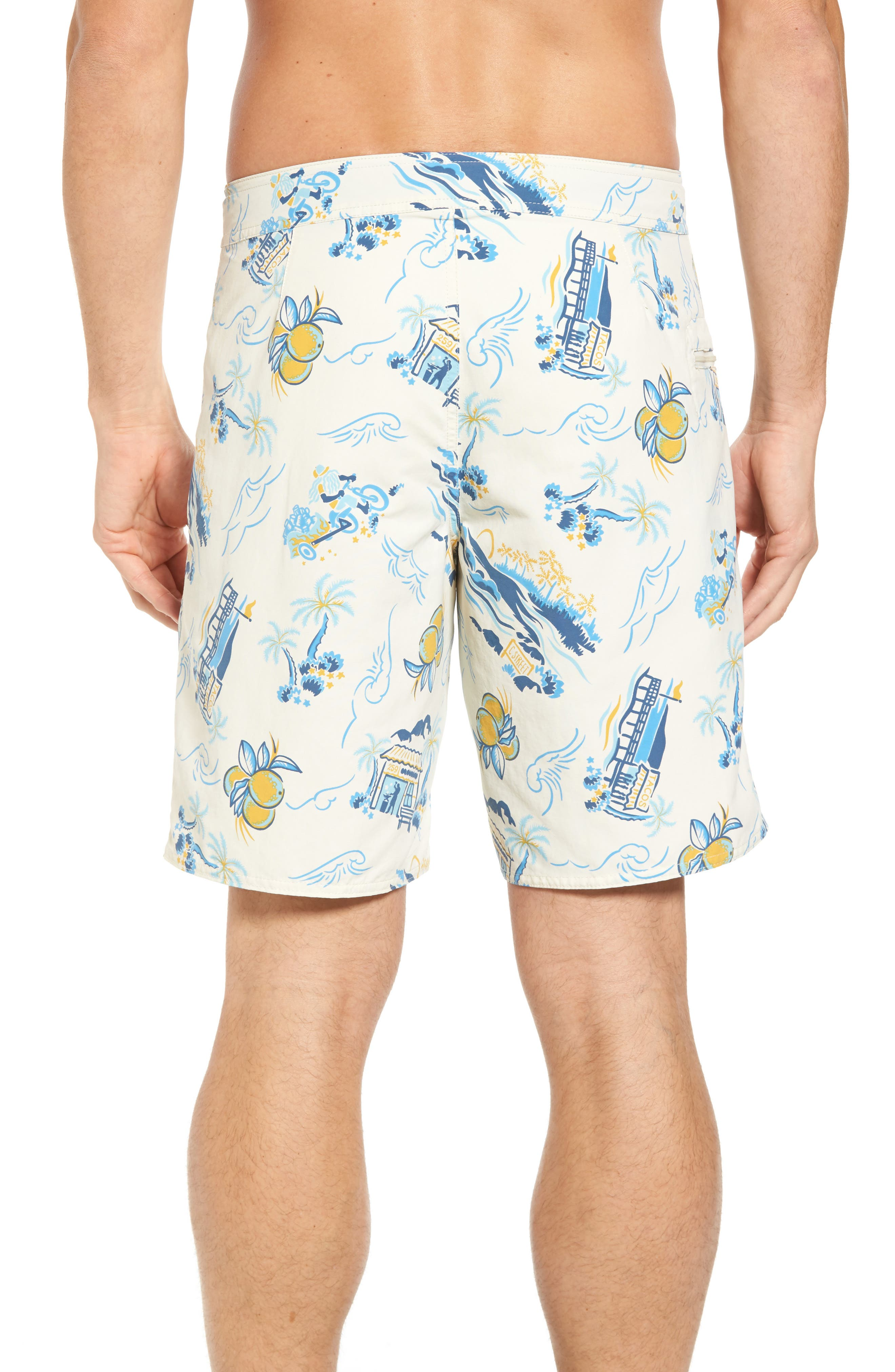 Wavefarer Board Shorts,                             Alternate thumbnail 2, color,                             100