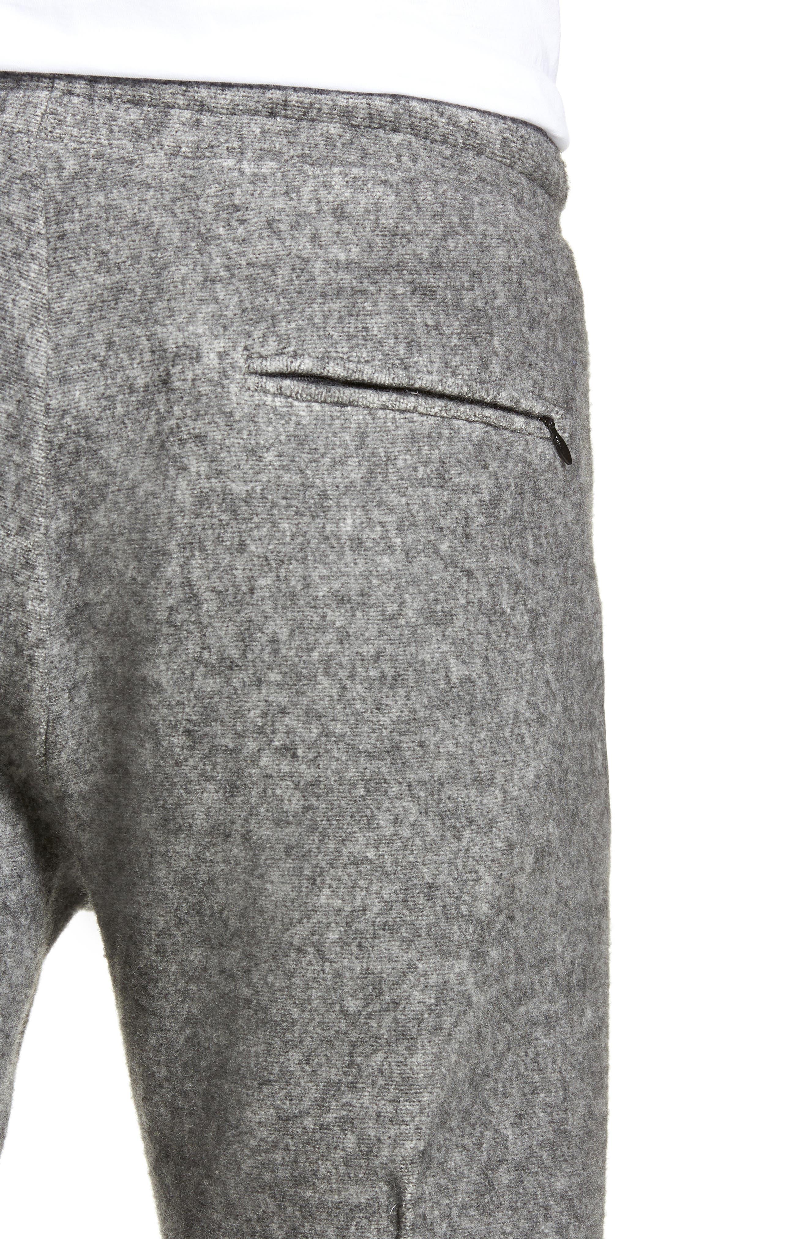 Maddux Slim Fit Jogger Pants,                             Alternate thumbnail 4, color,                             HEATHER GREY