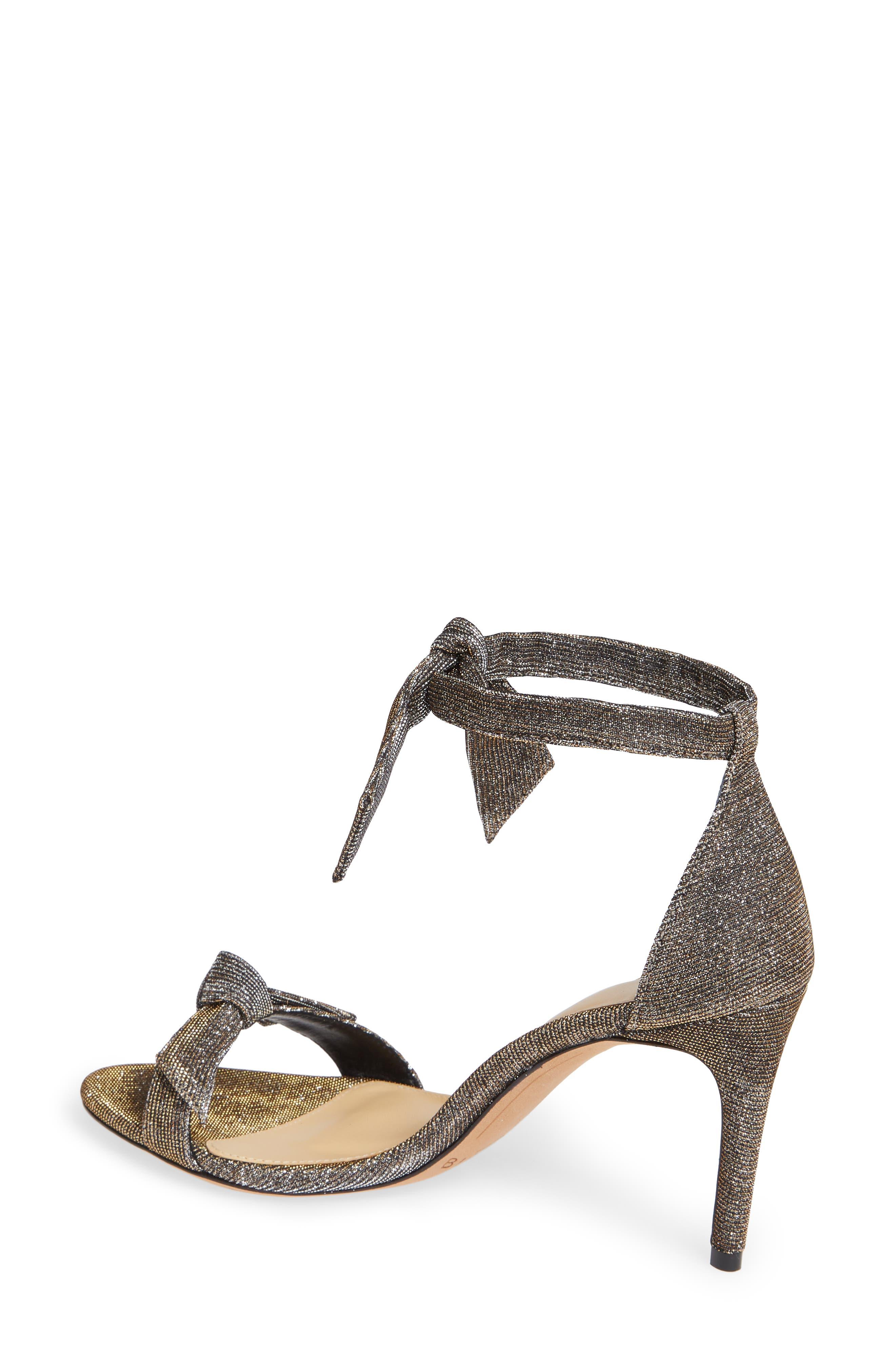 Clarita Ankle Strap Sandal,                             Alternate thumbnail 2, color,                             SILVER