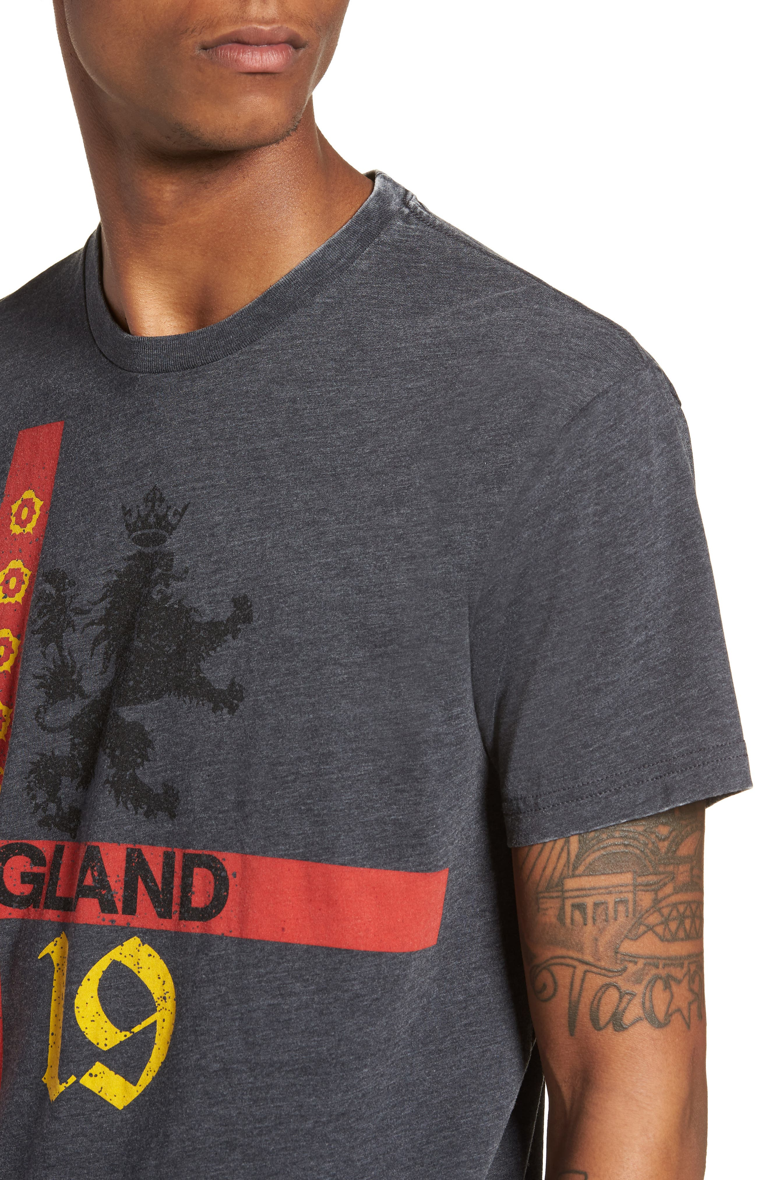 England T-Shirt,                             Alternate thumbnail 4, color,                             001