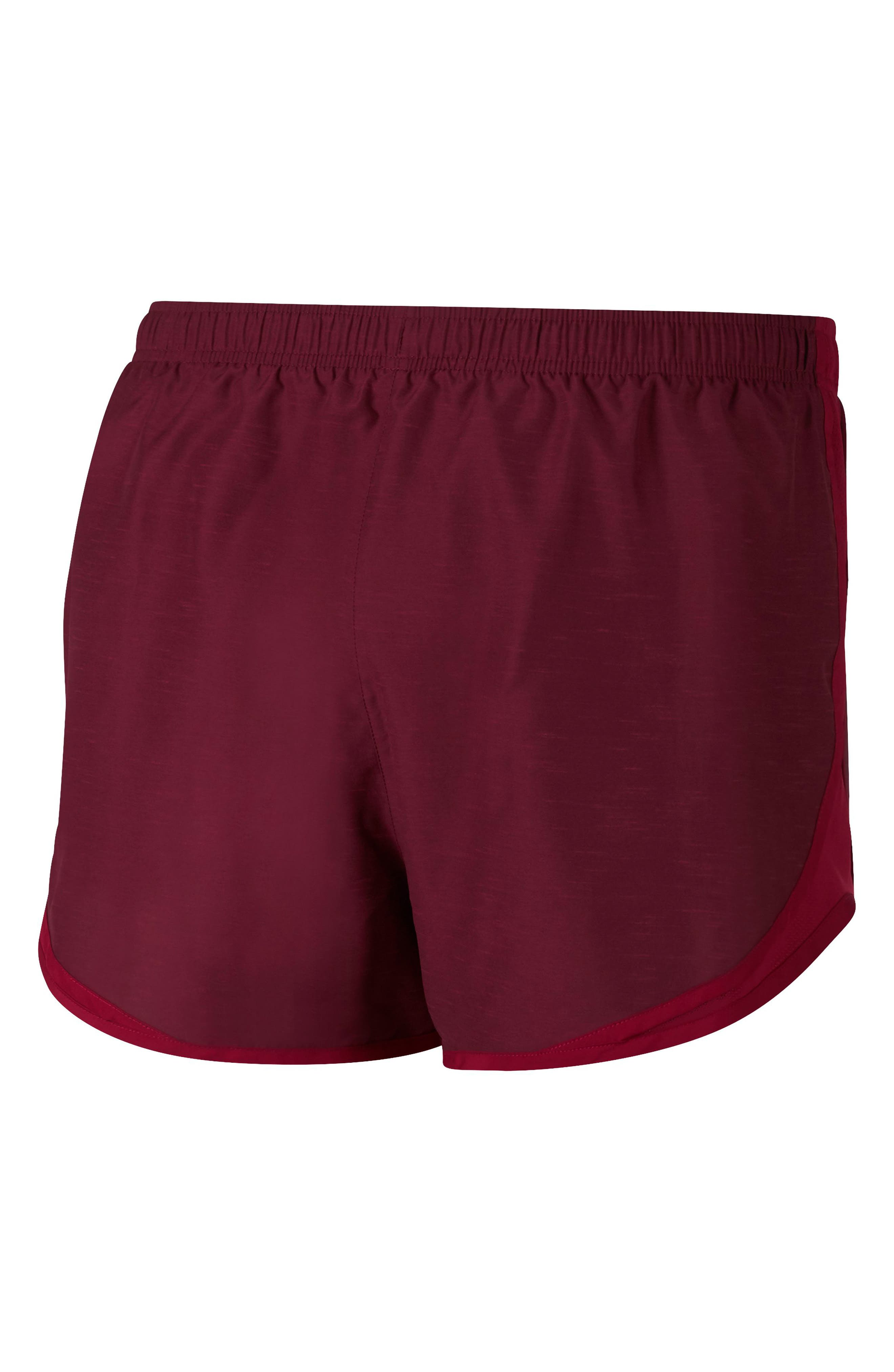 Dry Tempo Running Shorts,                             Alternate thumbnail 3, color,                             RED CRUSH/WOLF GREY