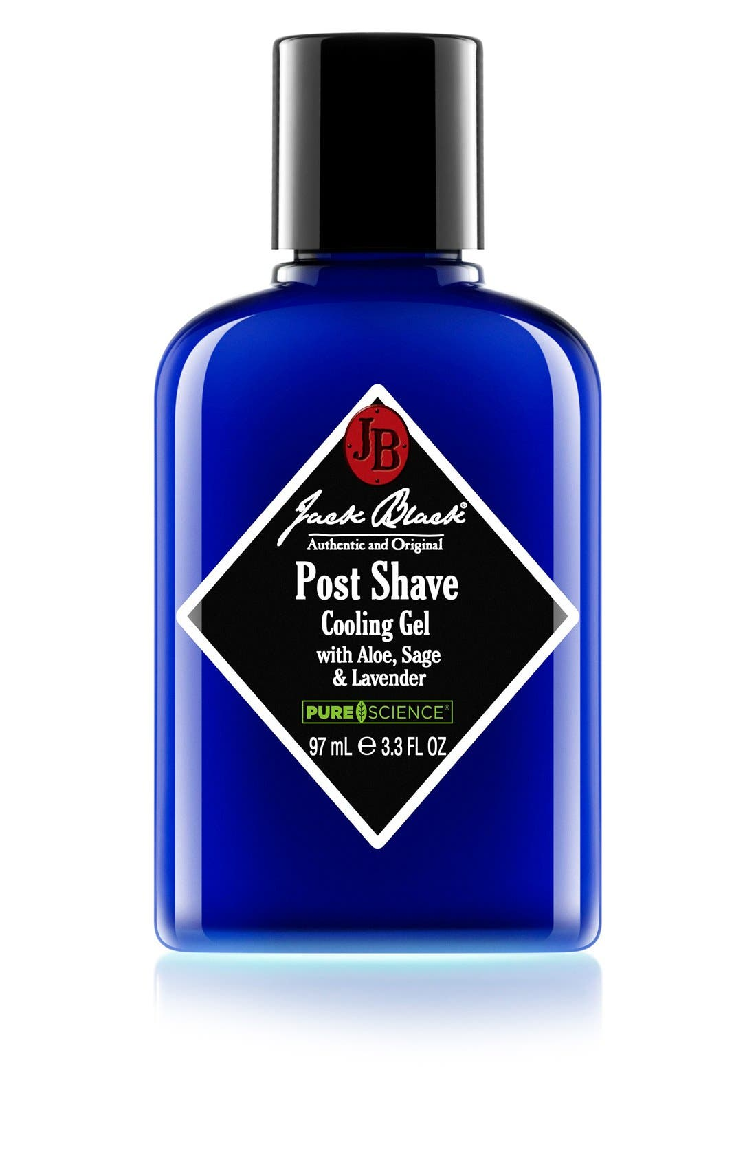 Post Shave Cooling Gel,                         Main,                         color, NO COLOR