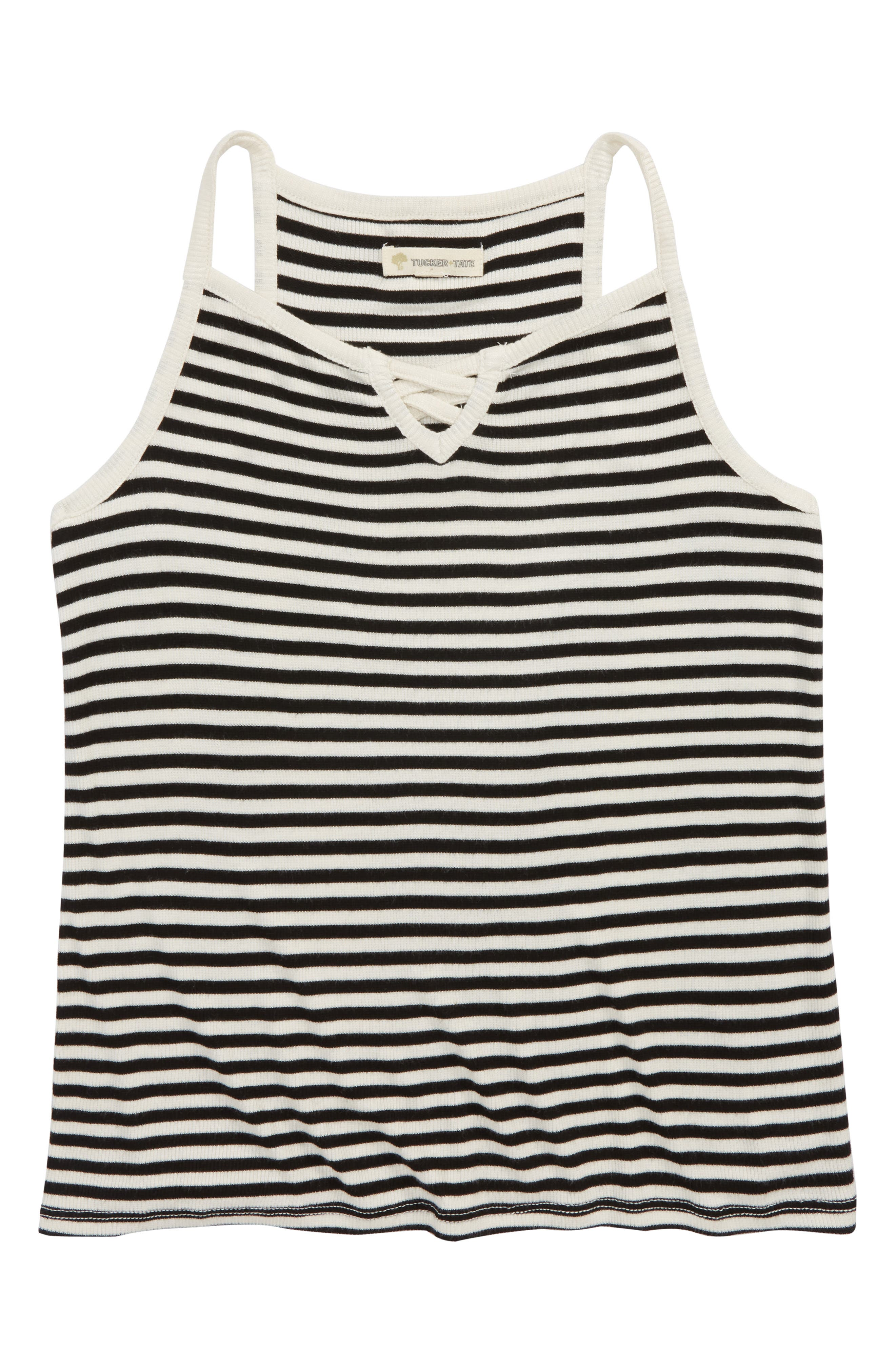 Crisscross Stripe Tank,                         Main,                         color, 001