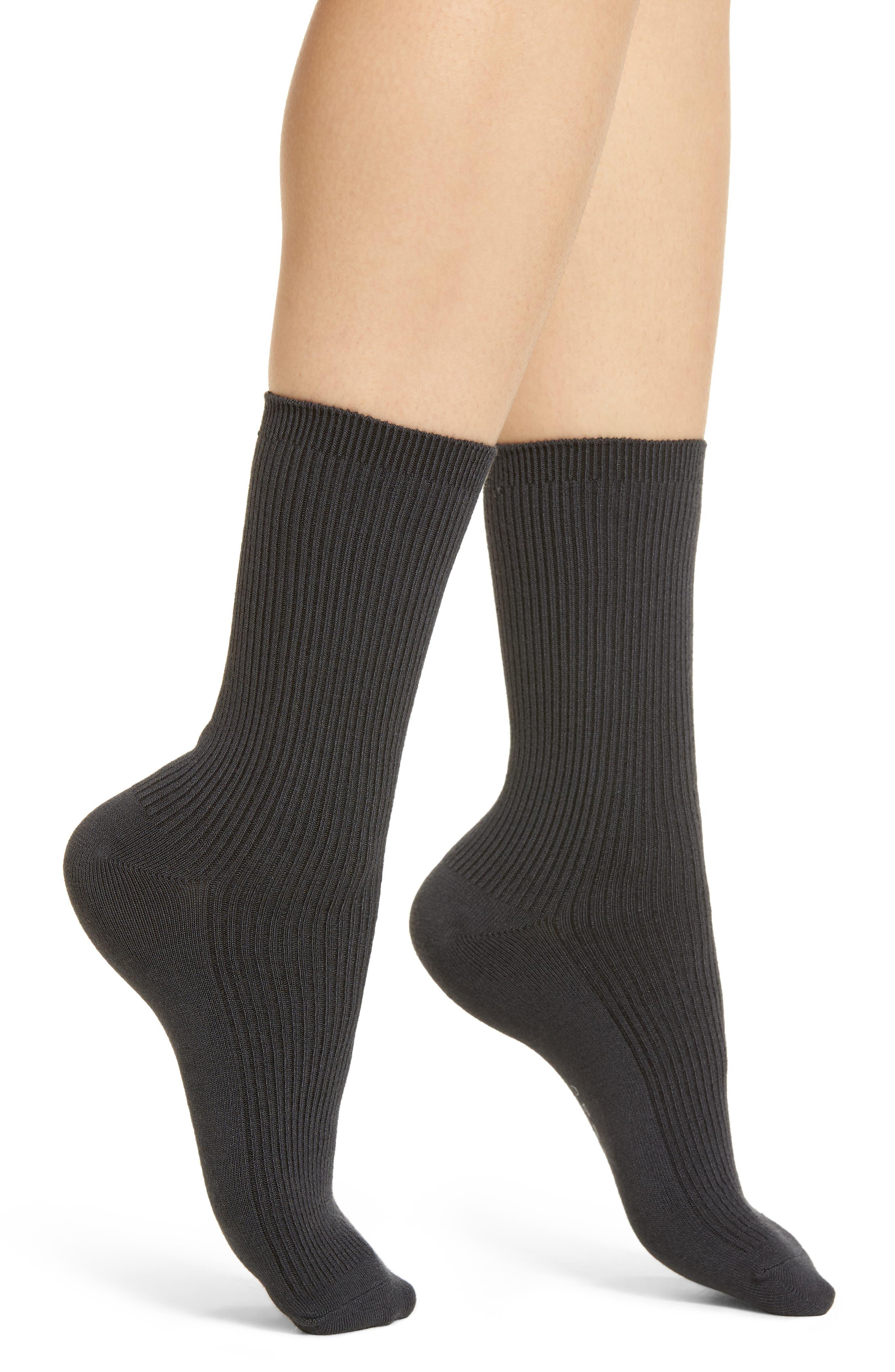 Nightingale Crew Socks,                         Main,                         color, 010