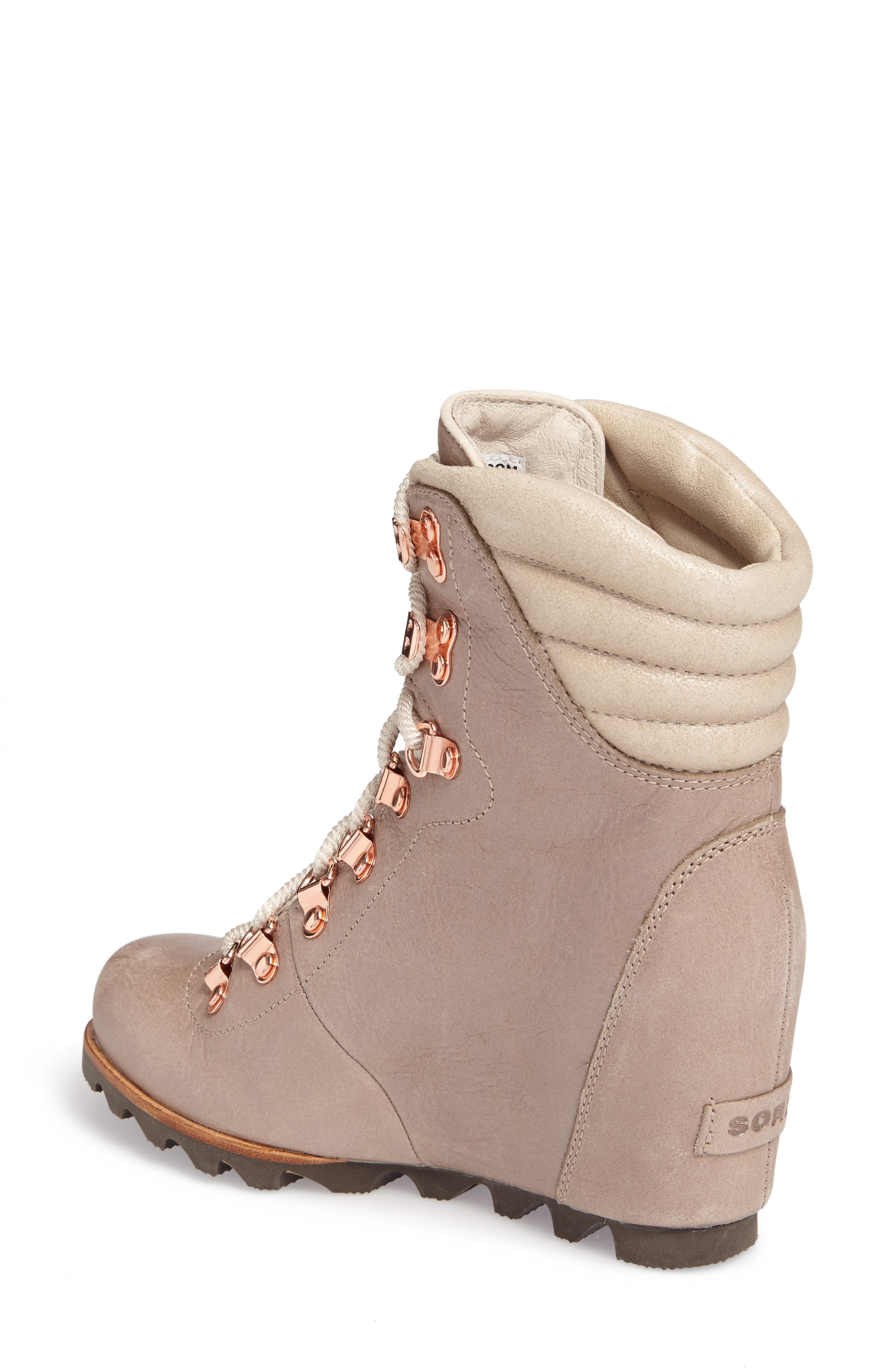 'Conquest' Waterproof Wedge Boot,                             Alternate thumbnail 10, color,