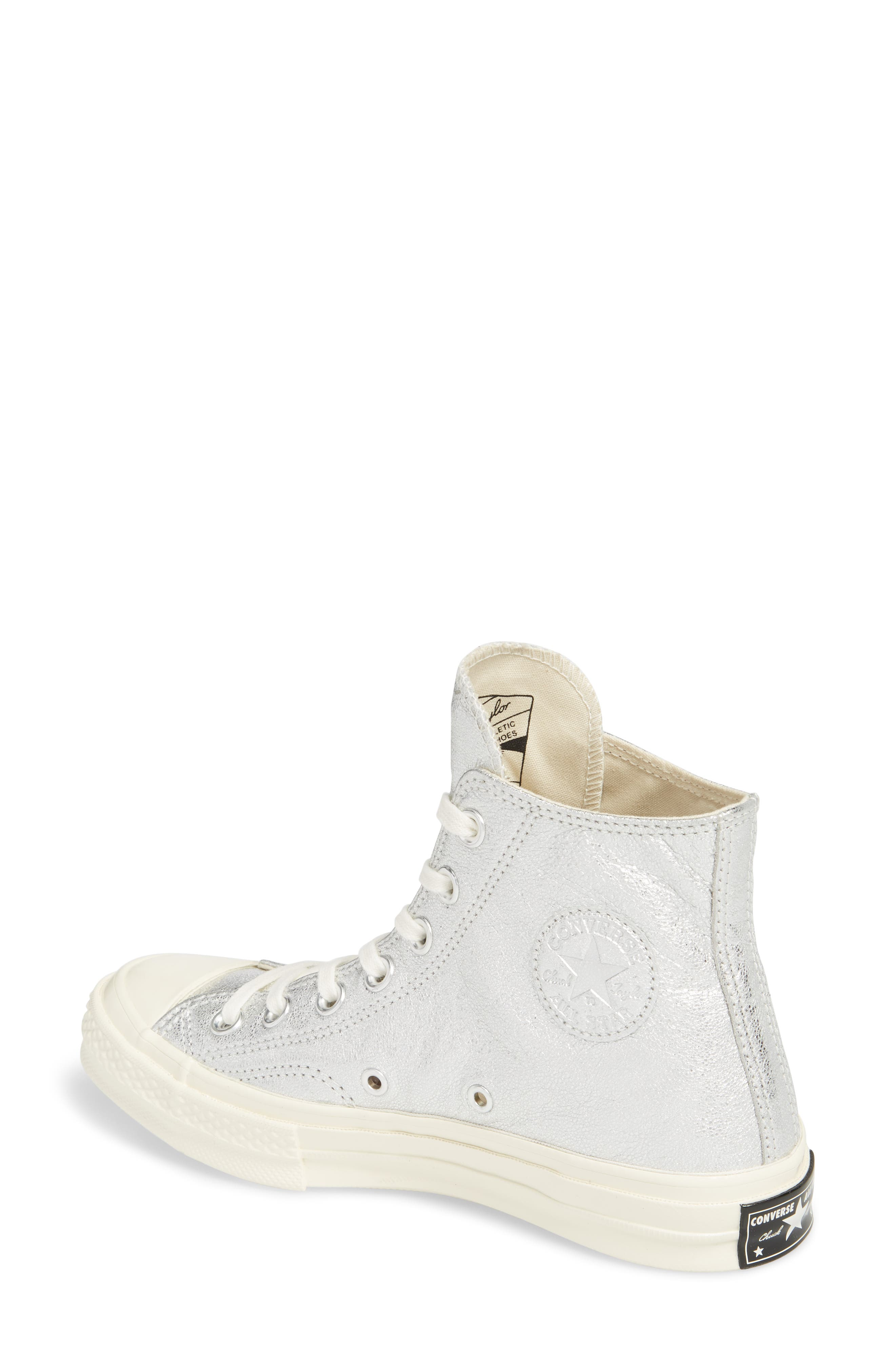 Chuck Taylor<sup>®</sup> All Star<sup>®</sup> Heavy Metal 70 High Top Sneaker,                             Alternate thumbnail 4, color,