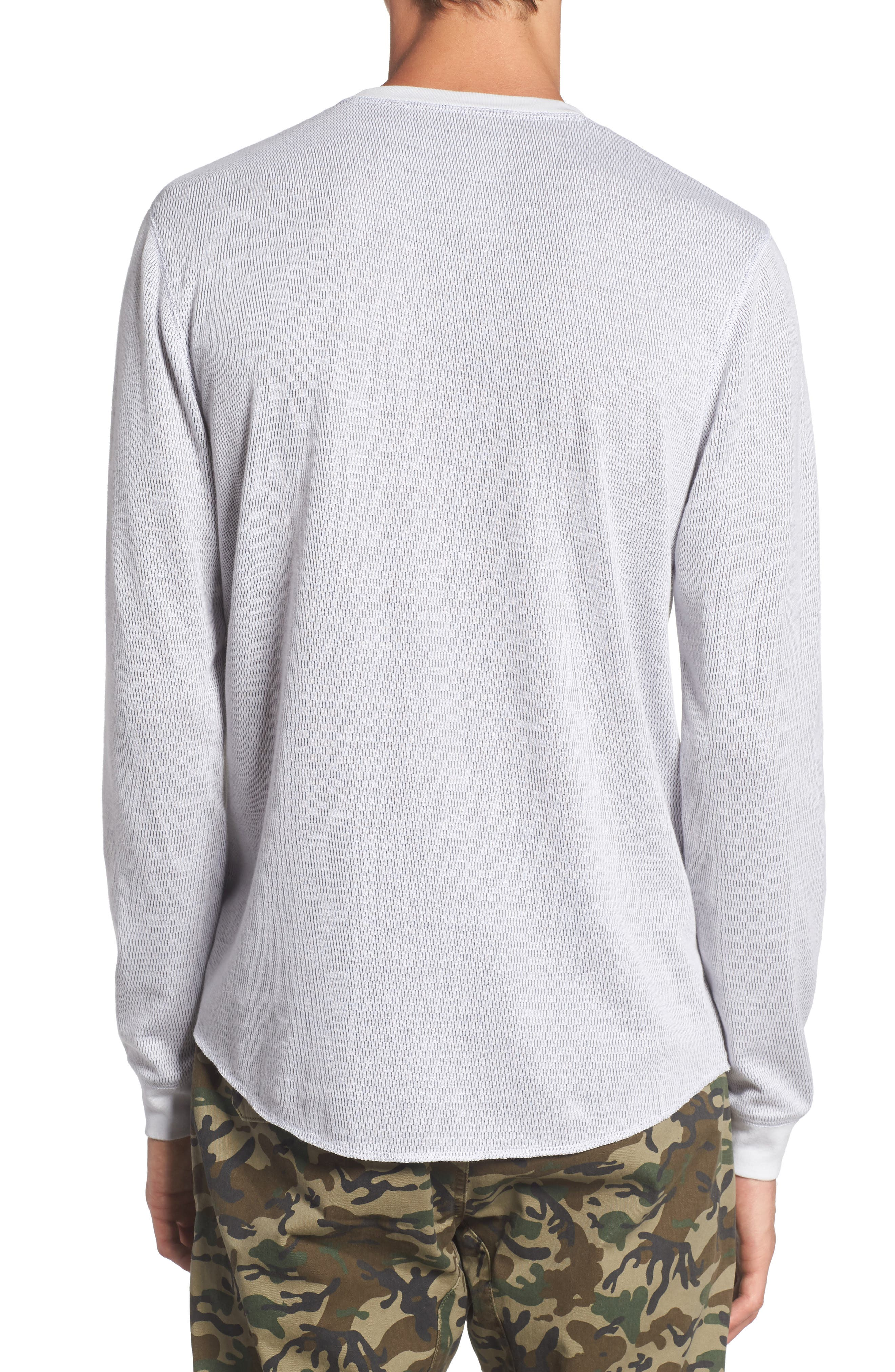Notch Neck Thermal T-Shirt,                             Alternate thumbnail 10, color,