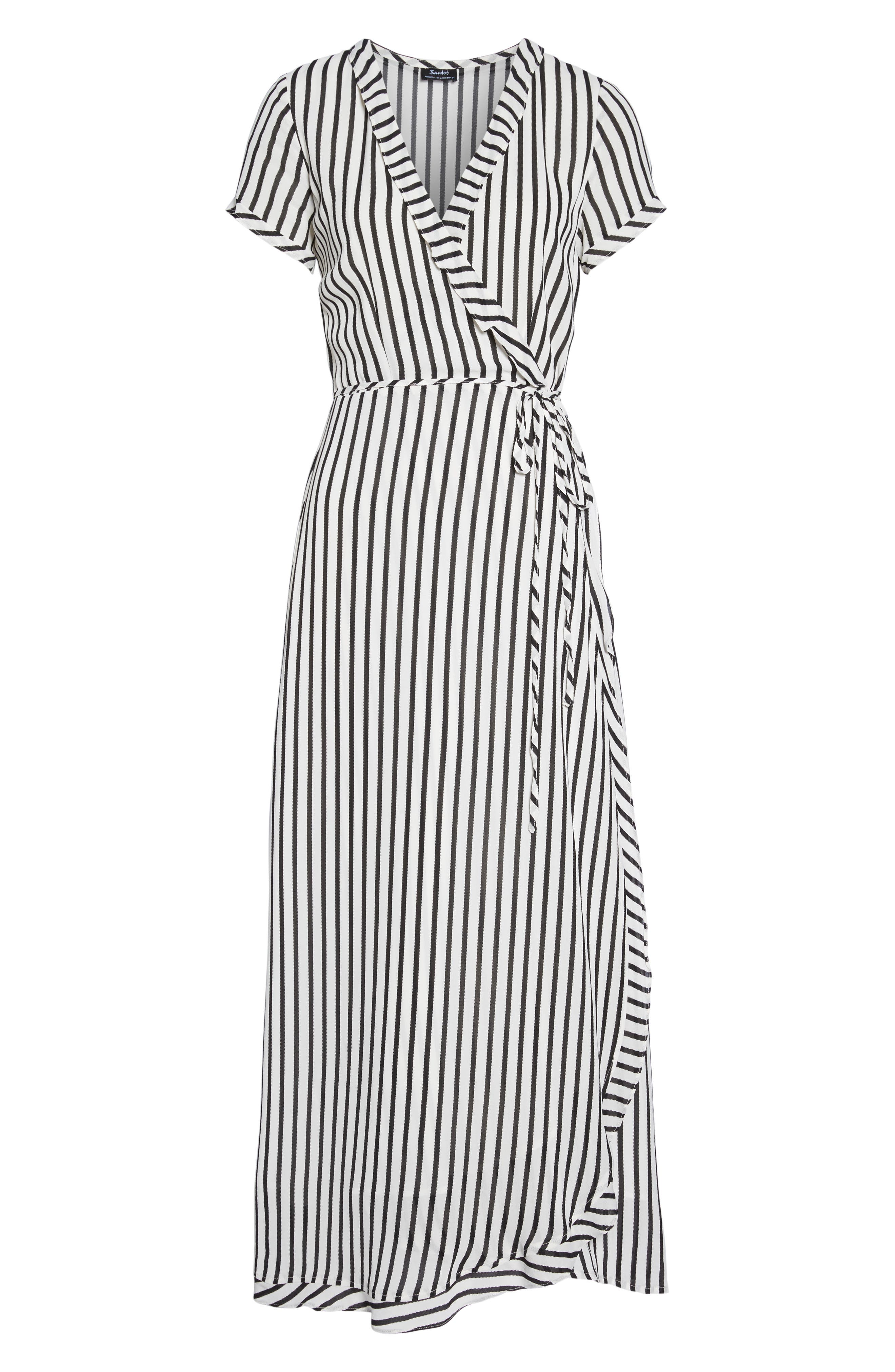 Adie Maxi Wrap Dress,                             Alternate thumbnail 7, color,                             013
