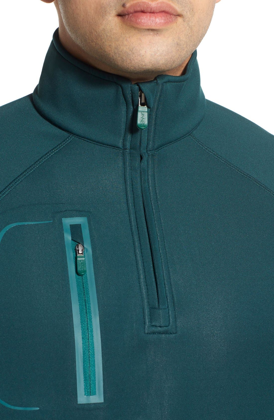 XH2O Crawford Stretch Quarter Zip Golf Pullover,                             Alternate thumbnail 46, color,