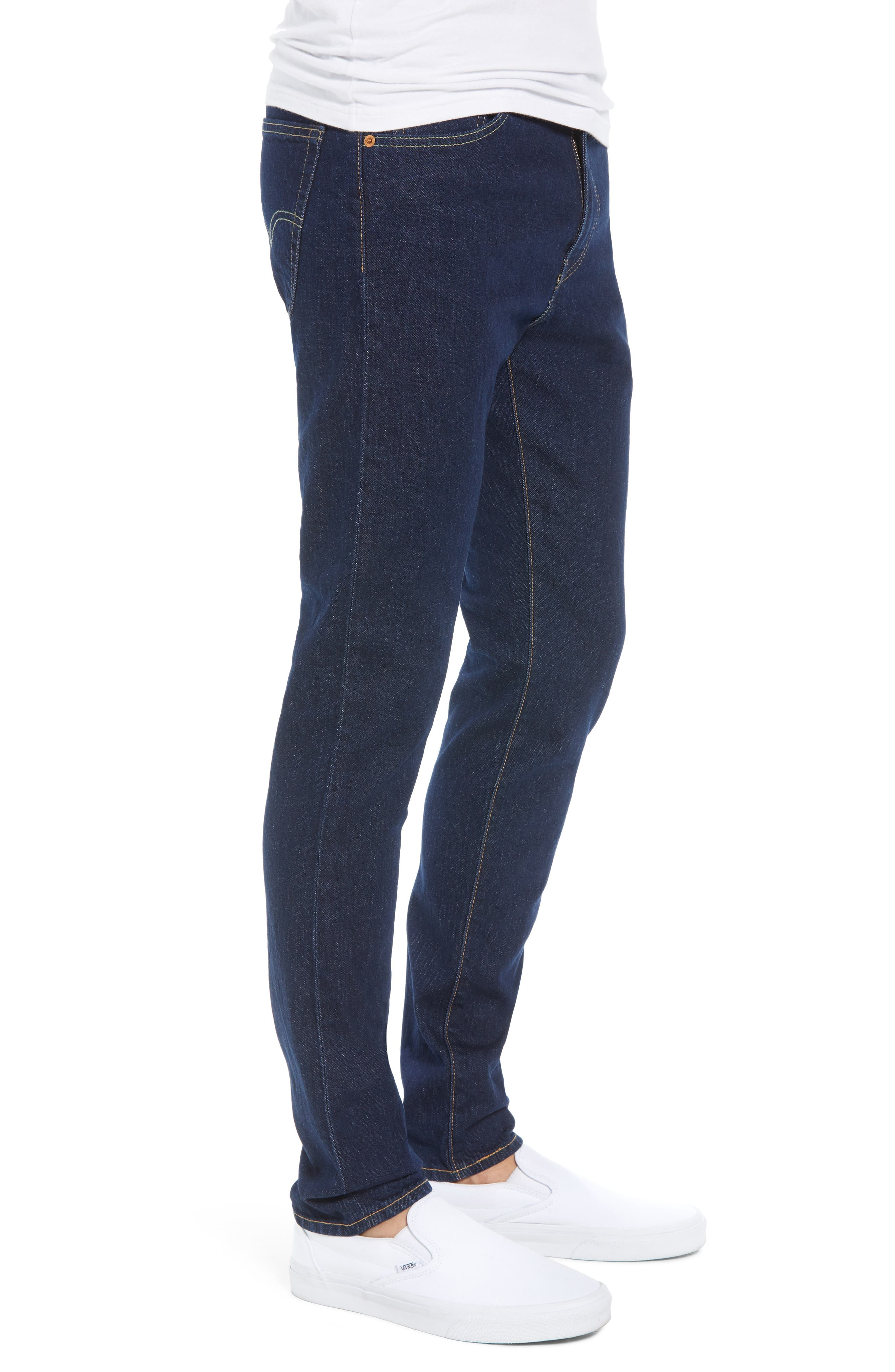 510<sup>™</sup> Skinny Fit Jeans,                             Alternate thumbnail 3, color,                             CHAIN RINSE
