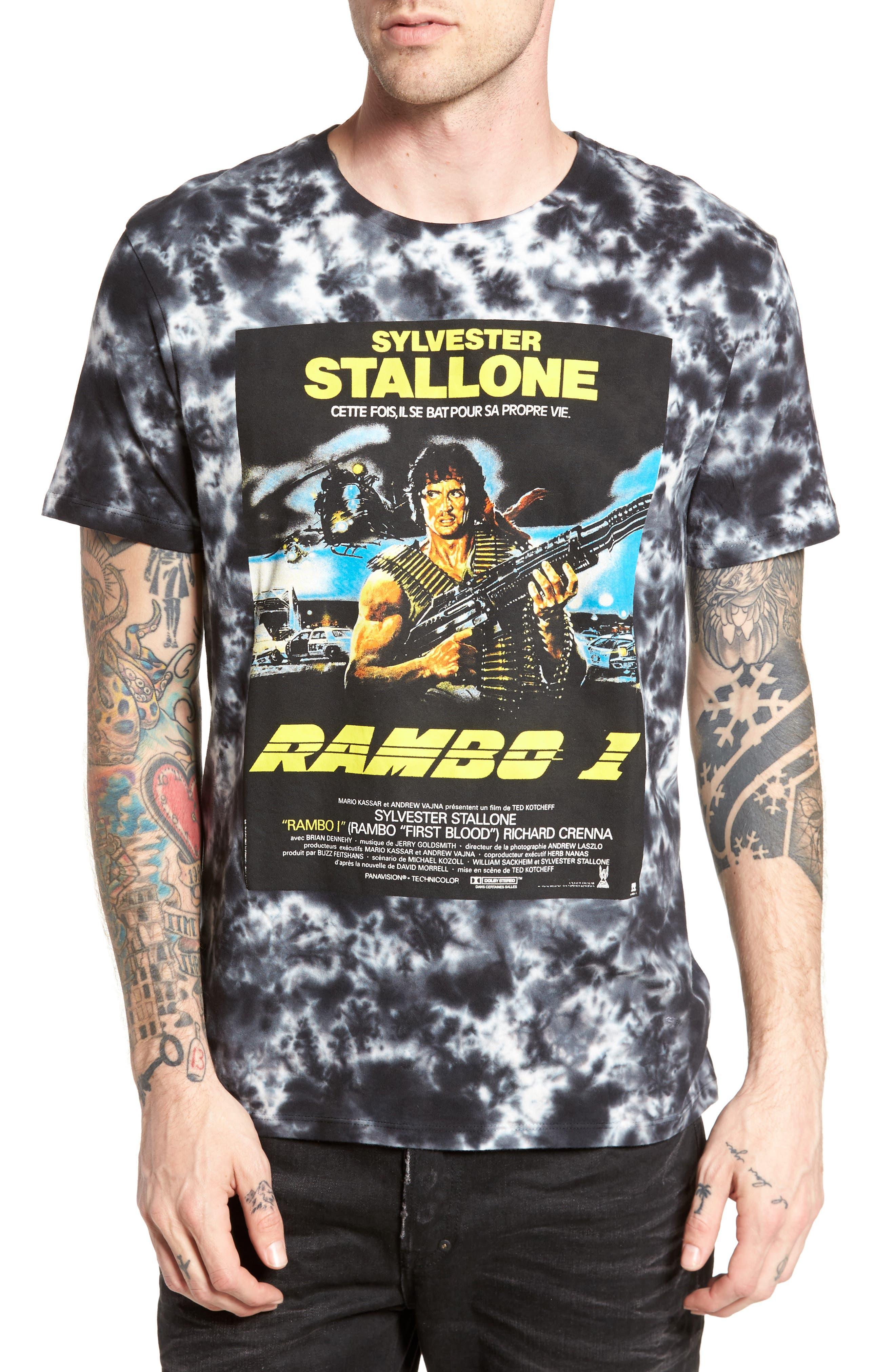 Rambo T-Shirt,                             Main thumbnail 1, color,                             009