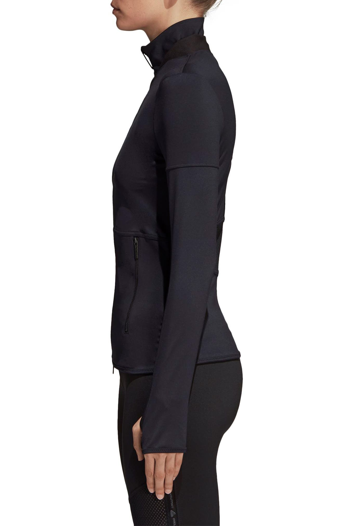 Essential Recycled Polyester Midlayer,                             Alternate thumbnail 3, color,                             001