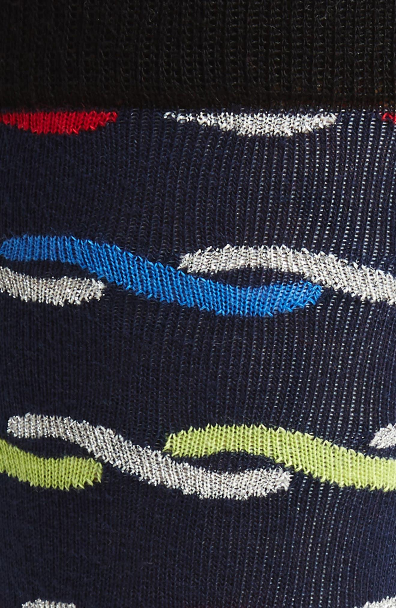 Woven Rope Socks,                             Alternate thumbnail 2, color,