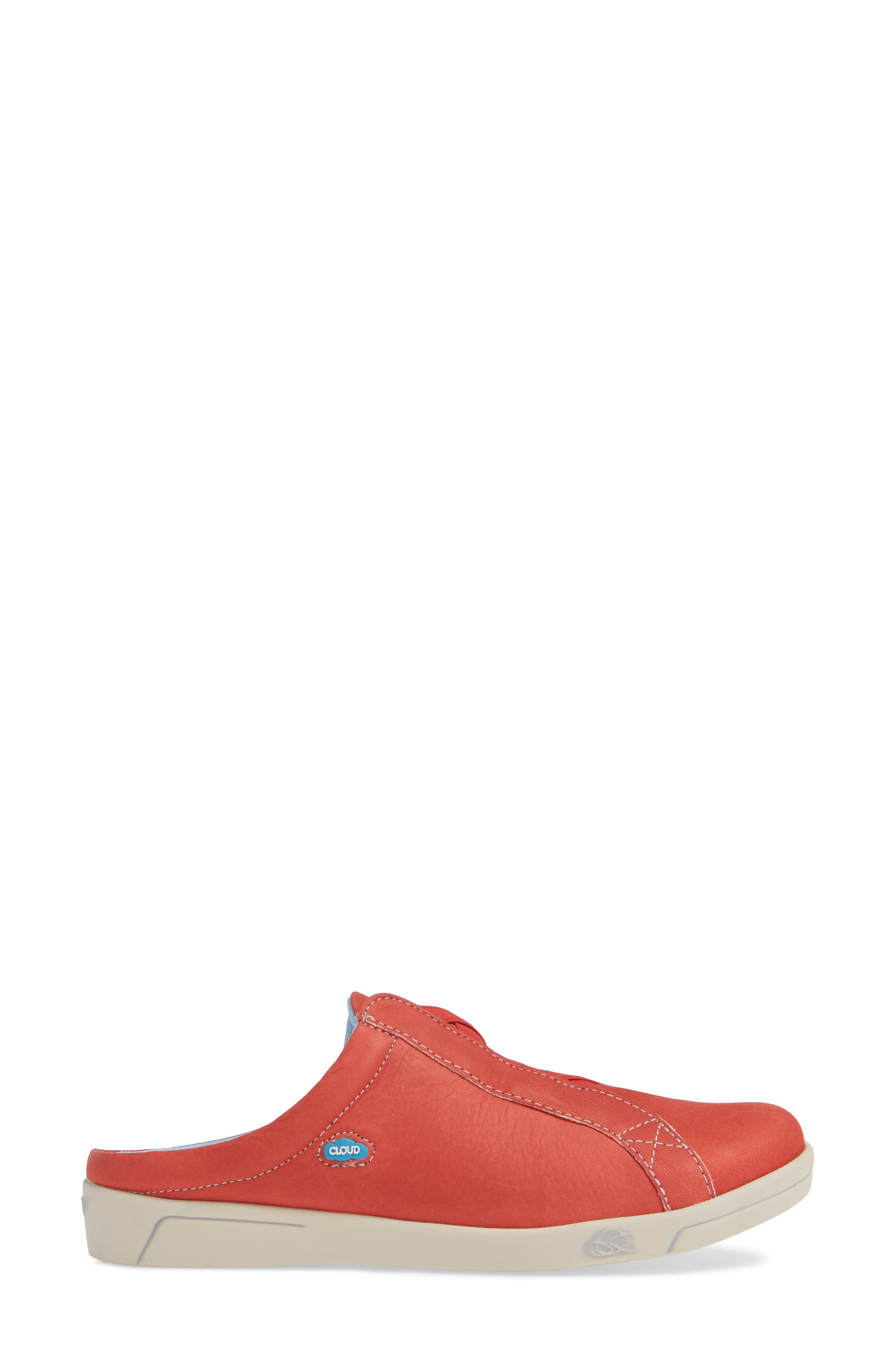 Arizona Sneaker,                             Alternate thumbnail 3, color,                             RED LEATHER