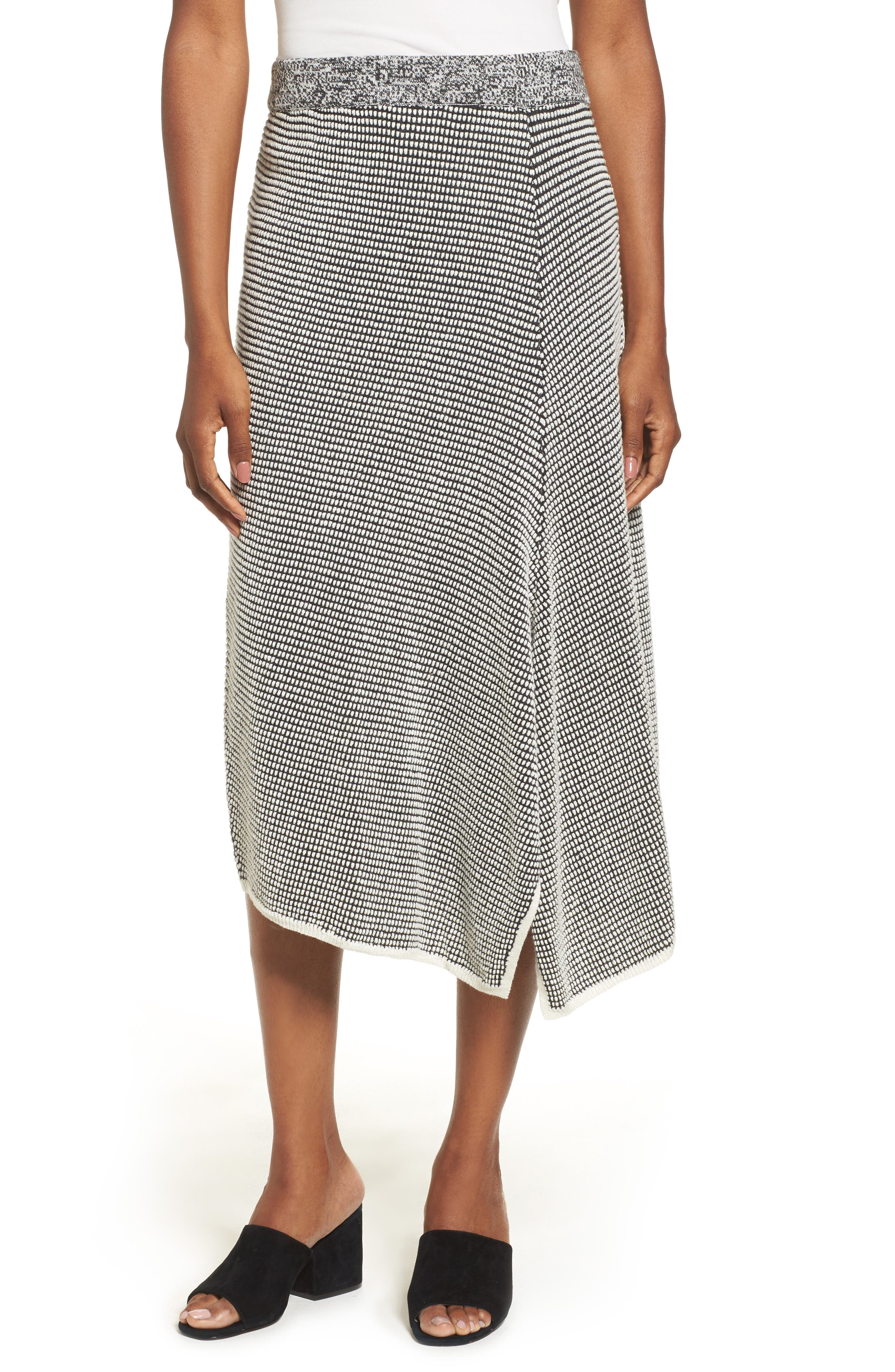 Frosted Fall Knit Skirt,                             Main thumbnail 1, color,