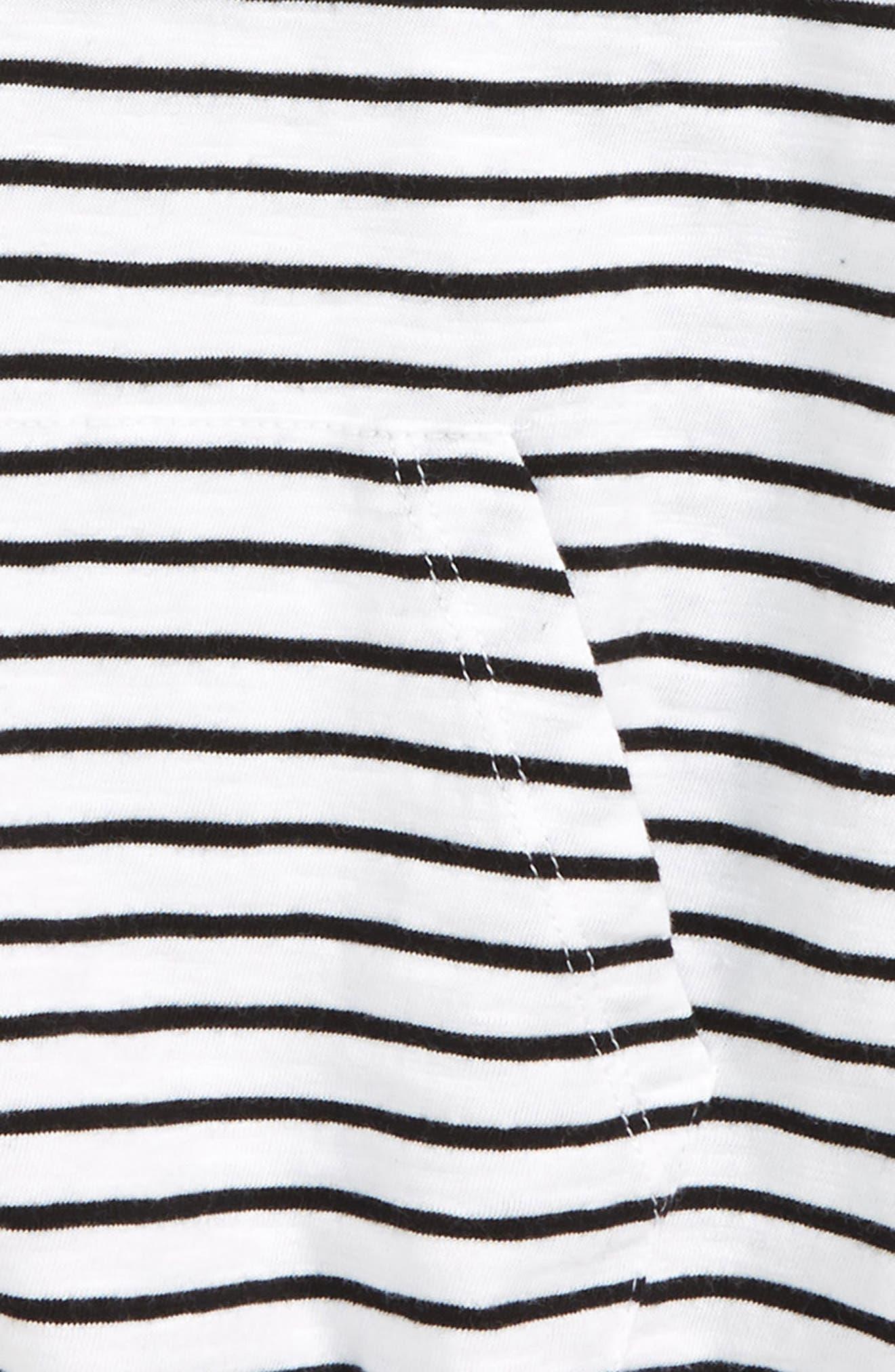 Stripe Knotted Tank,                             Alternate thumbnail 2, color,                             100