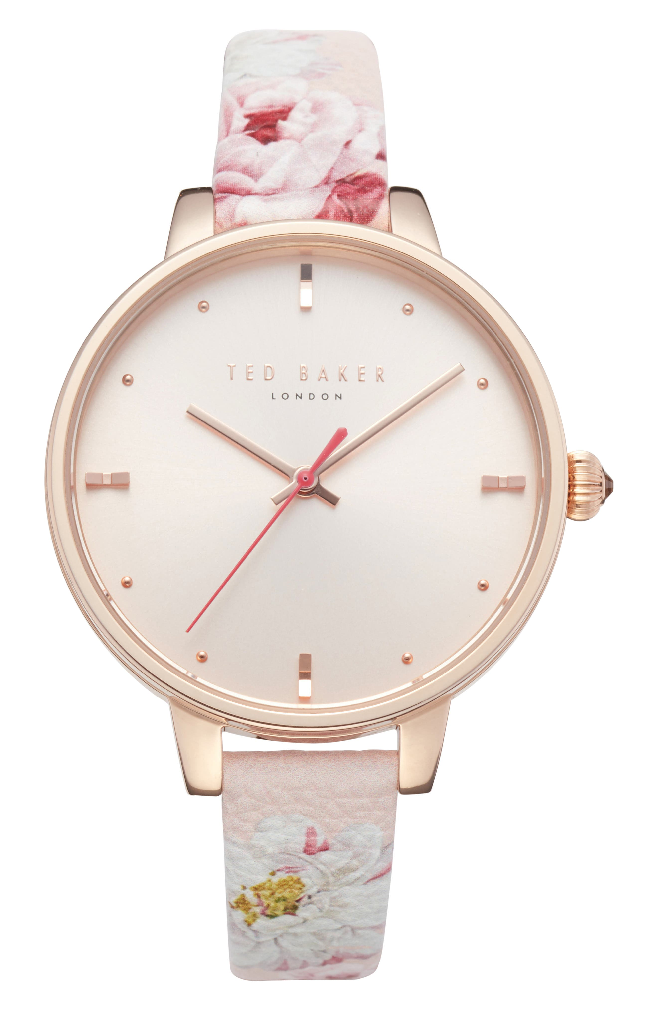 Kate Leather Strap Watch, 36mm,                         Main,                         color,