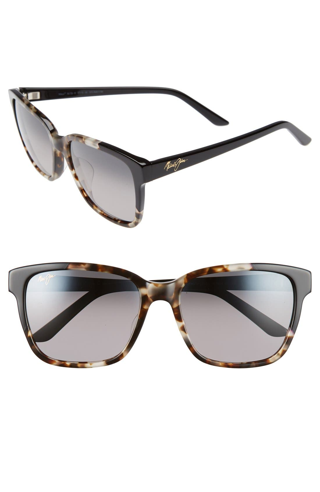 Moonbow 57mm PolarizedPlus2<sup>®</sup> Sunglasses,                             Main thumbnail 2, color,