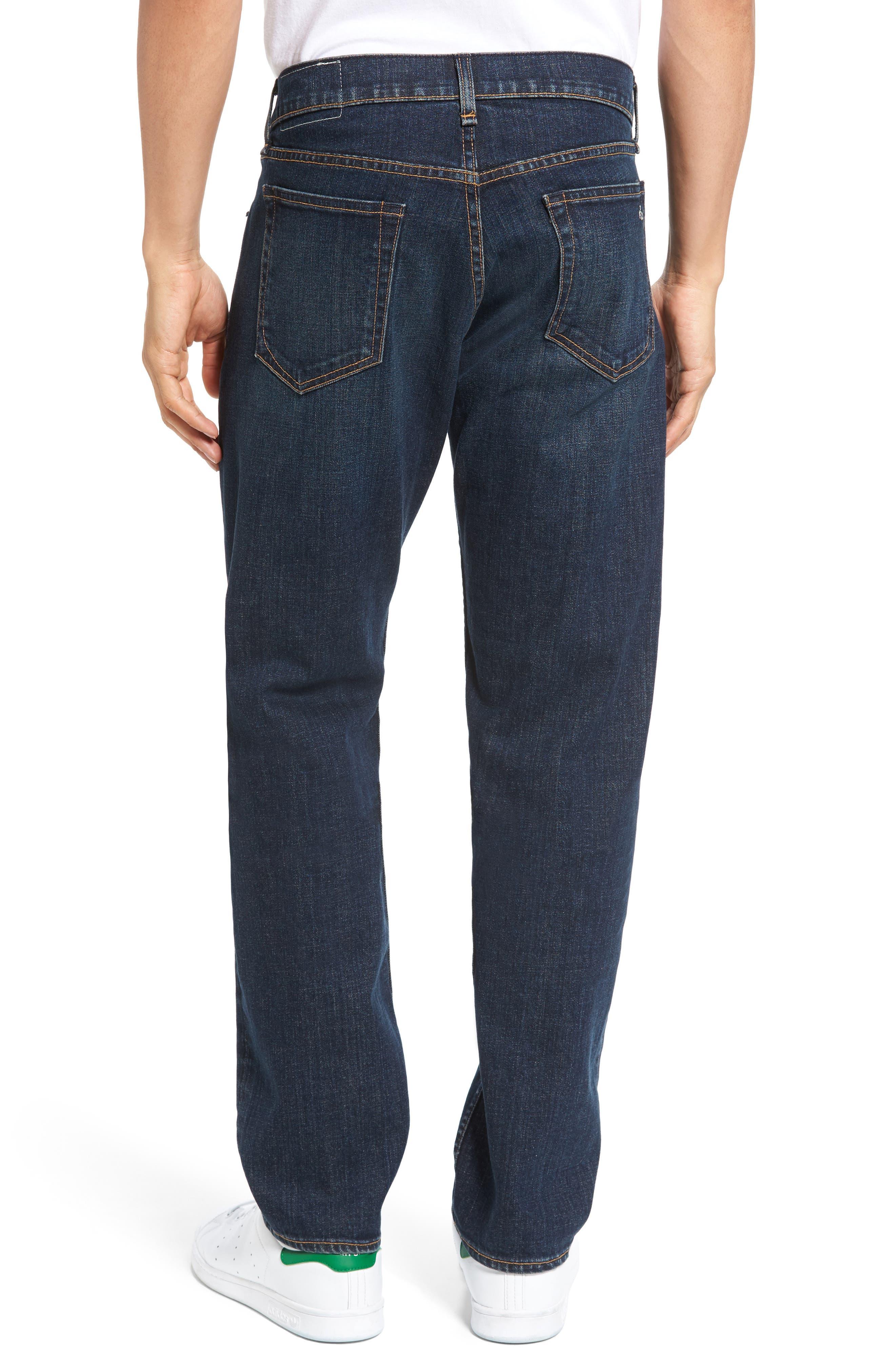 Fit 3 Slim Straight Leg Jeans,                             Alternate thumbnail 2, color,                             404