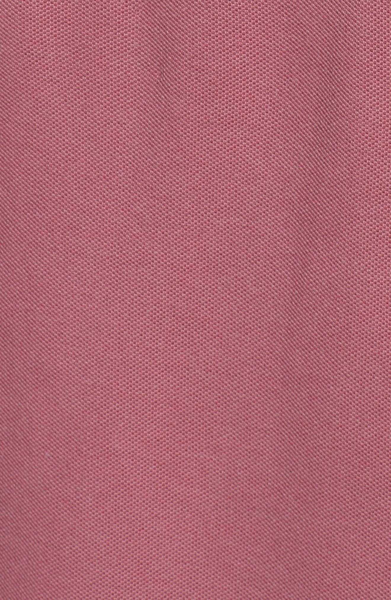 Piqué Hooded Dress,                             Alternate thumbnail 5, color,                             610