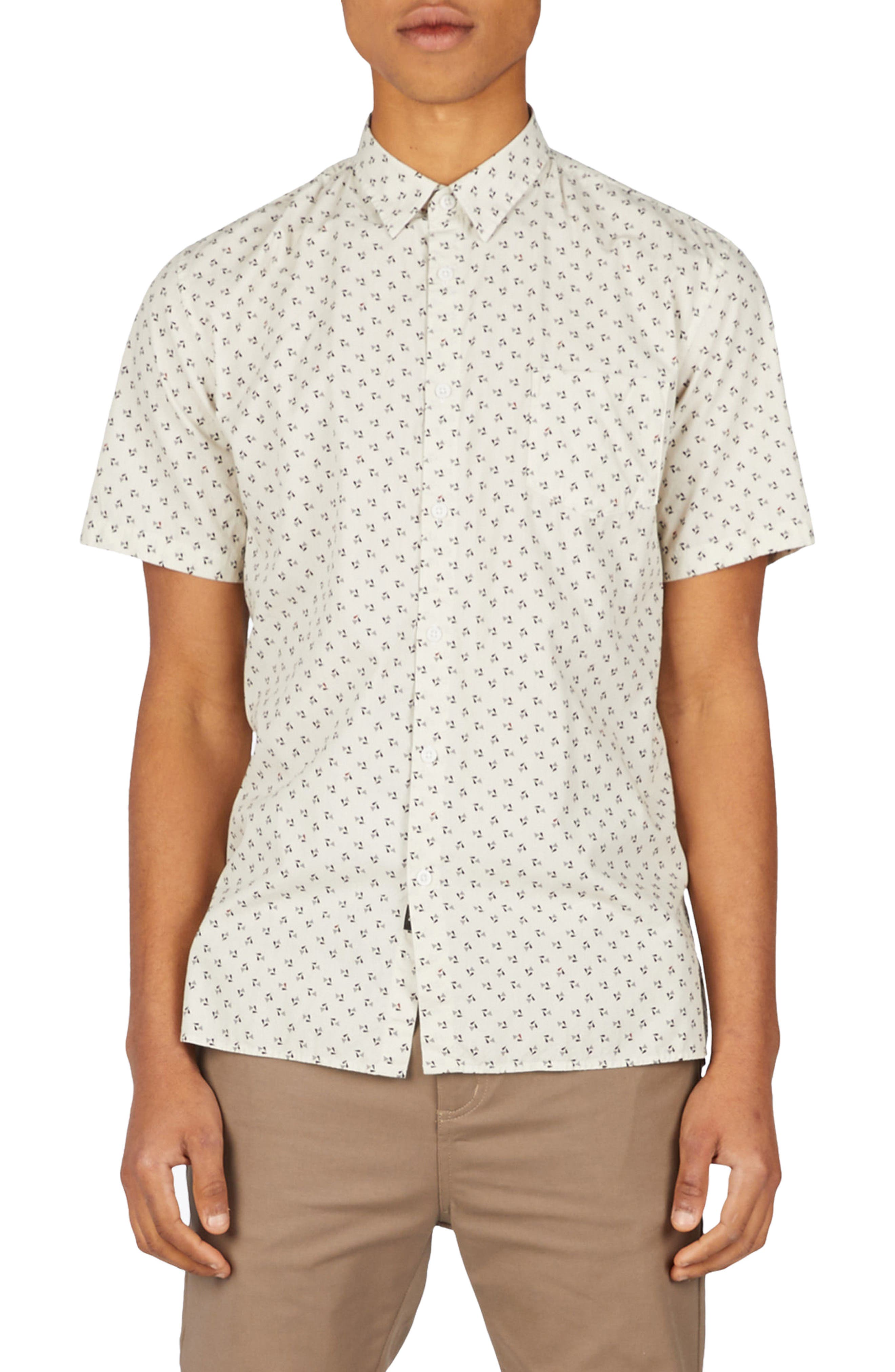 Bass Woven Shirt,                             Main thumbnail 1, color,                             900