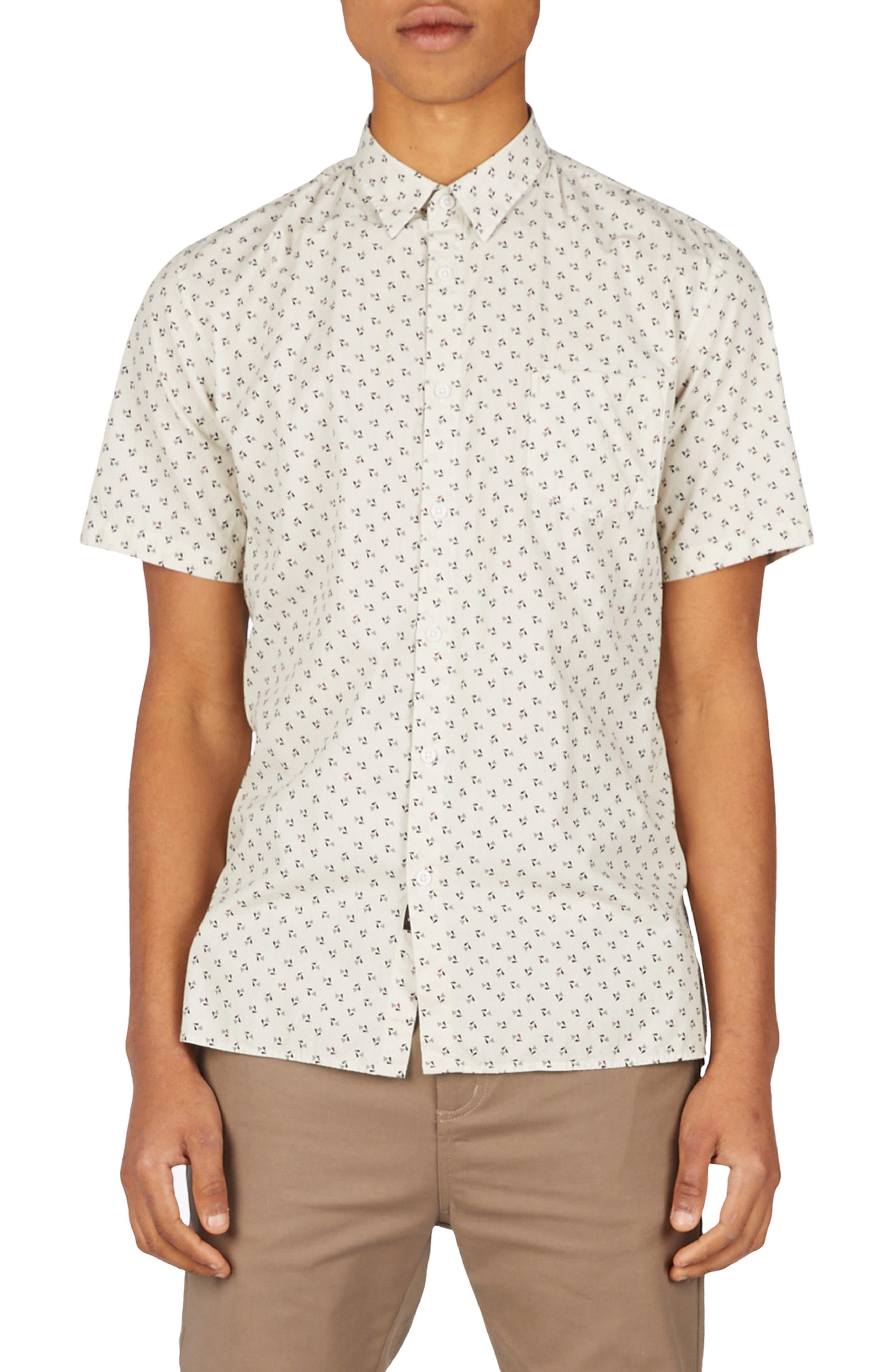 Bass Woven Shirt,                         Main,                         color, 900