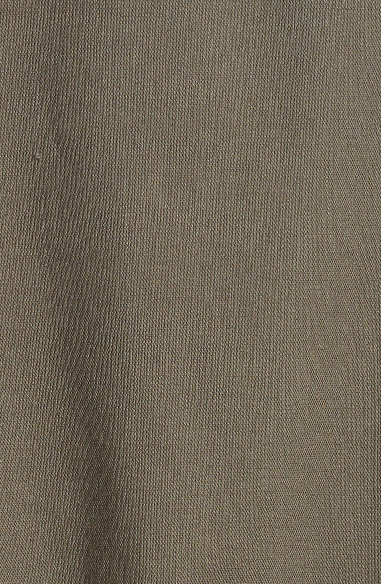 ruffle military jacket,                             Alternate thumbnail 6, color,                             301