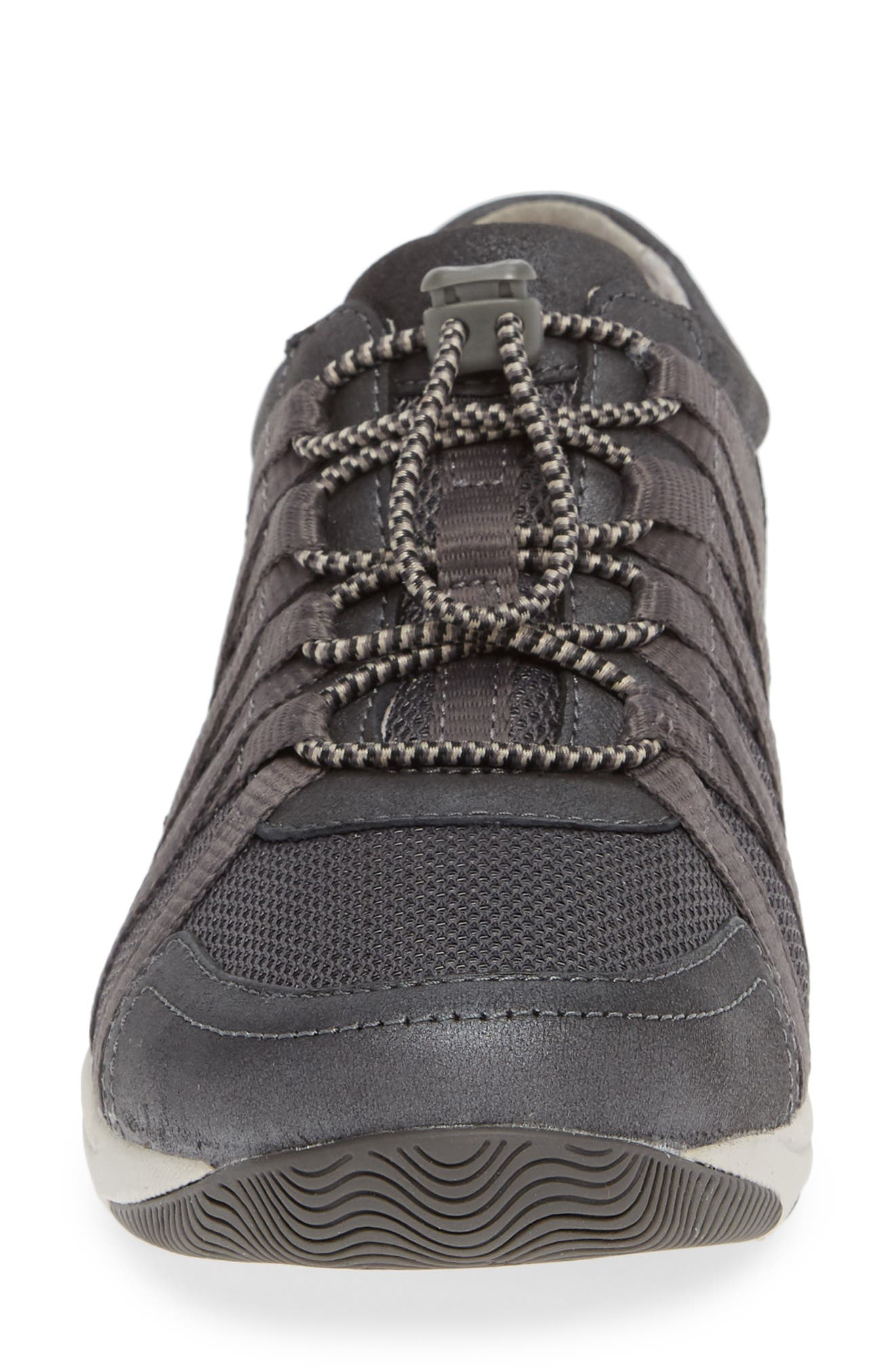 Halifax Collection Honor Sneaker,                             Alternate thumbnail 4, color,                             CHARCOAL/ CHARCOAL SUEDE