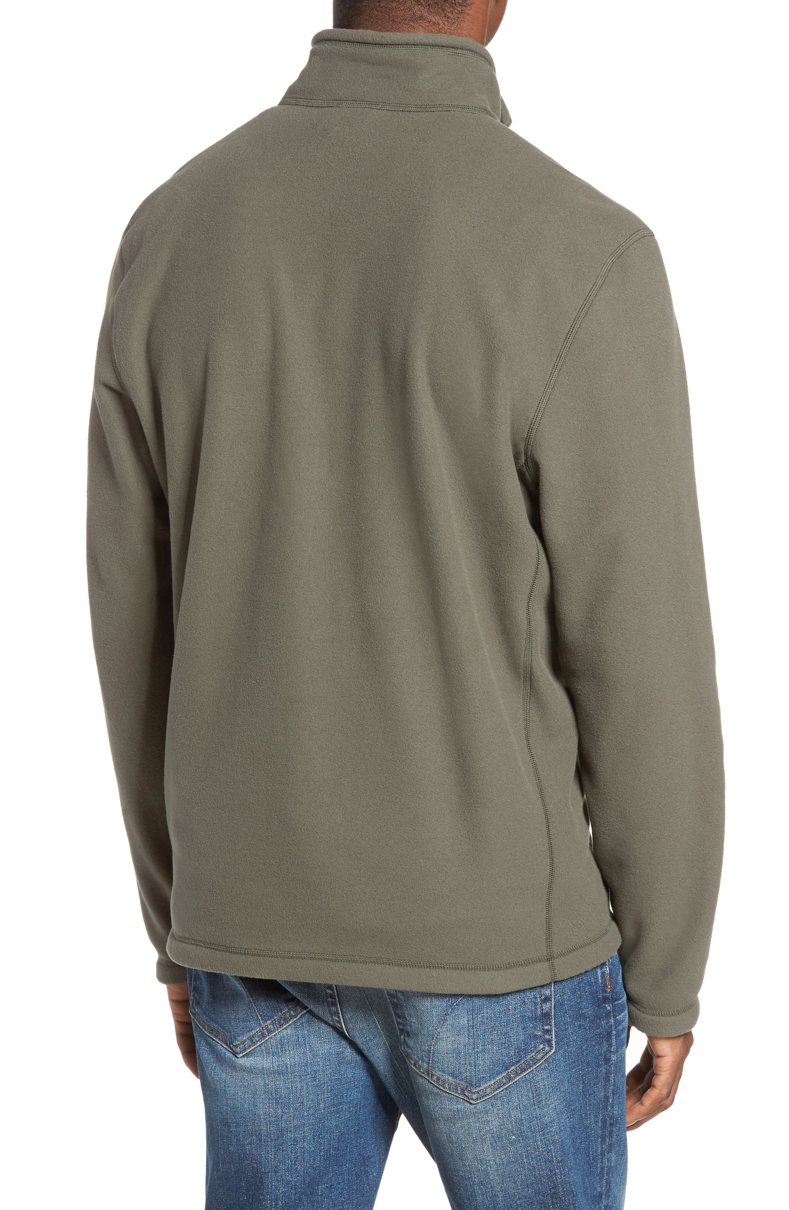 'TKA 100 Glacier' Quarter Zip Fleece Pullover,                             Alternate thumbnail 49, color,