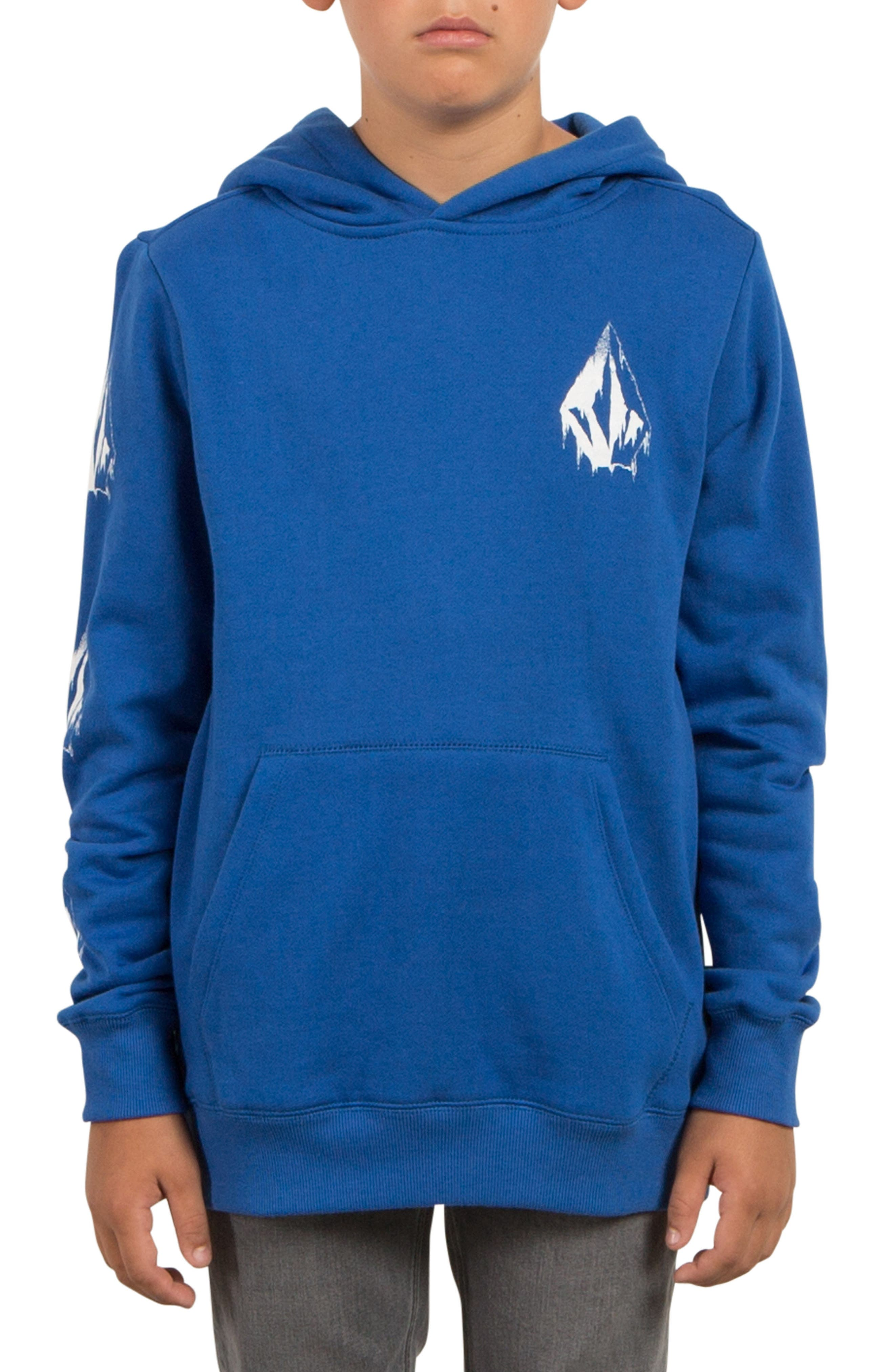 Supply Stone Graphic Pullover Hoodie,                             Alternate thumbnail 8, color,
