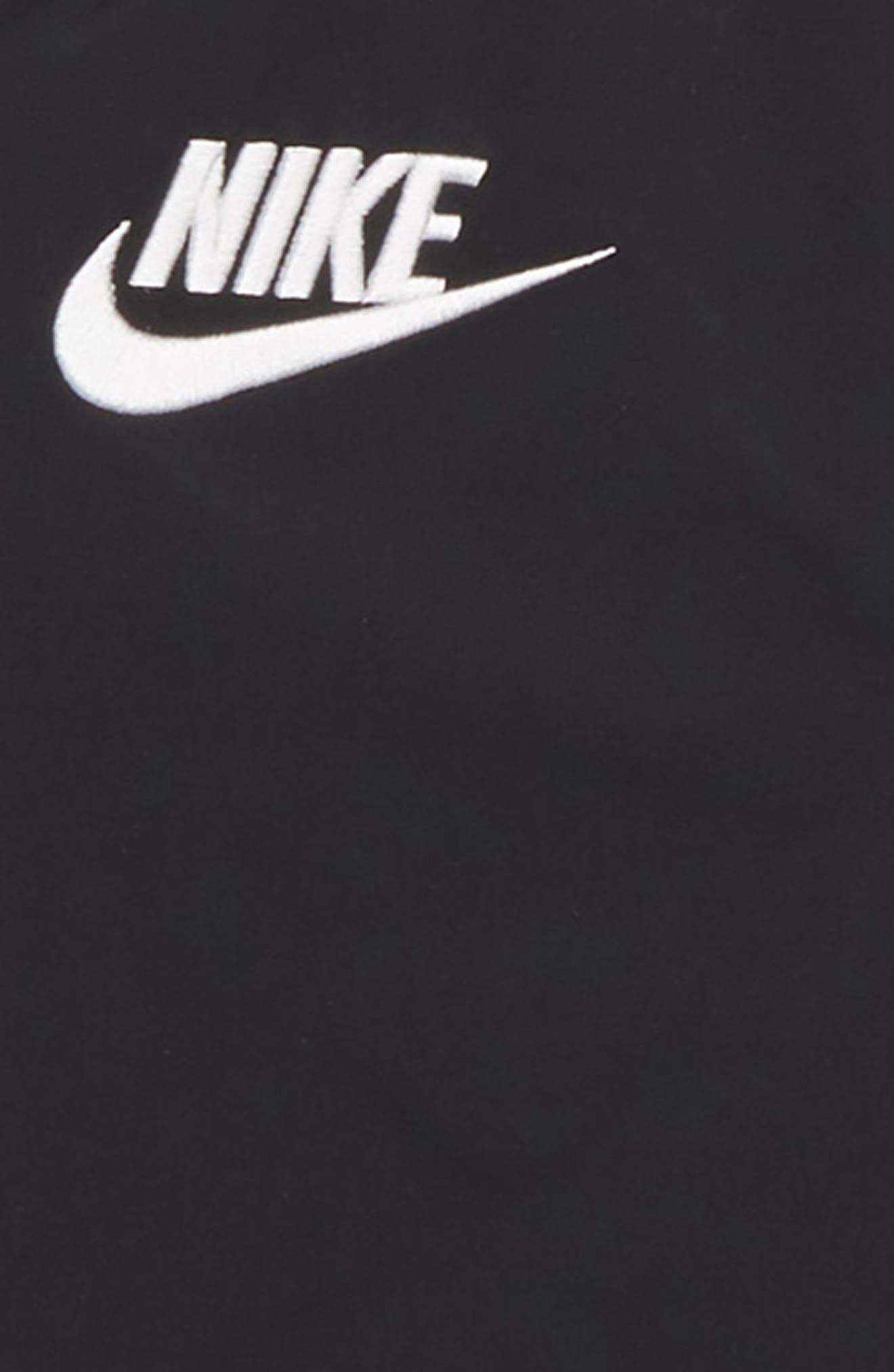 Sportswear Varsity Jacket,                             Alternate thumbnail 2, color,                             BLACK/ BLACK