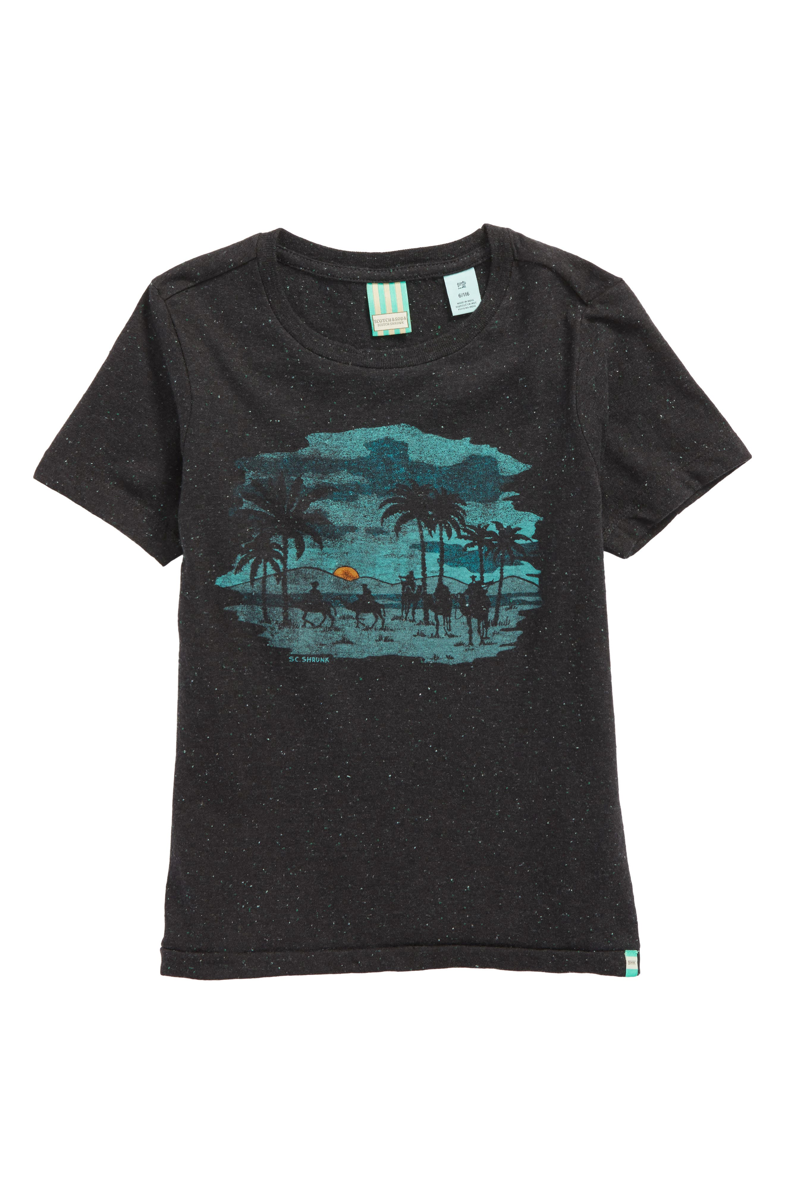 Artwork Graphic T-Shirt,                         Main,                         color, 001