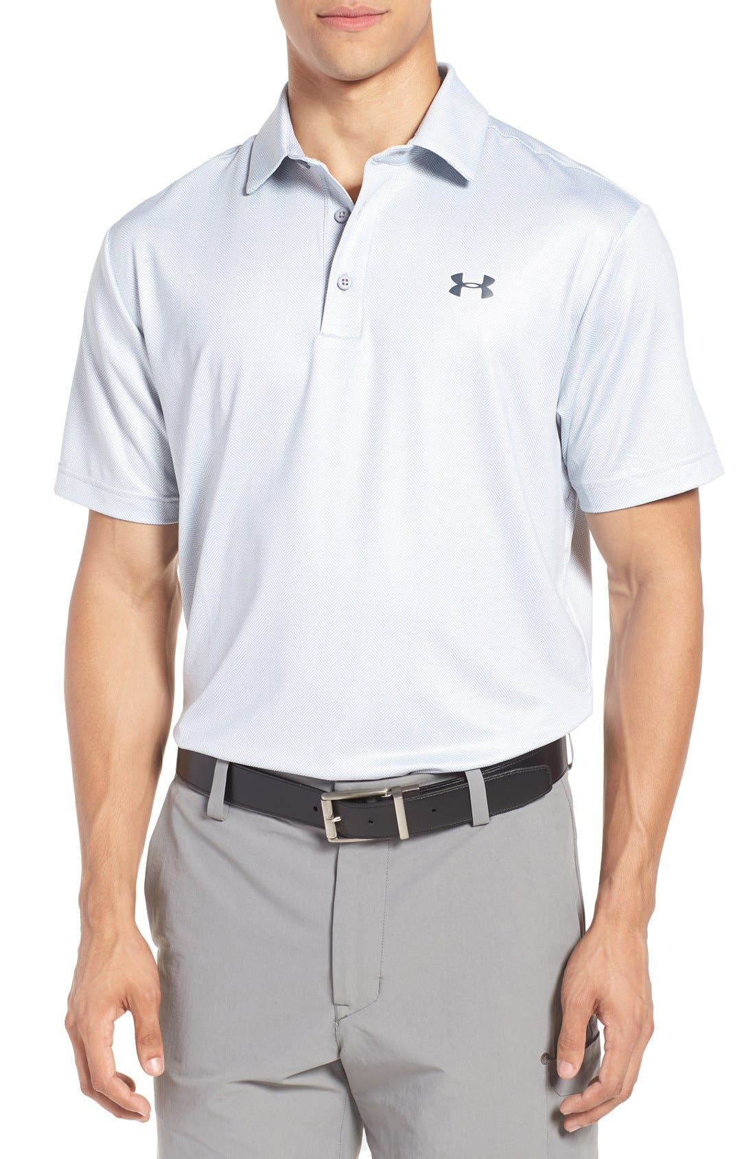 'Playoff' Loose Fit Short Sleeve Polo,                             Main thumbnail 18, color,