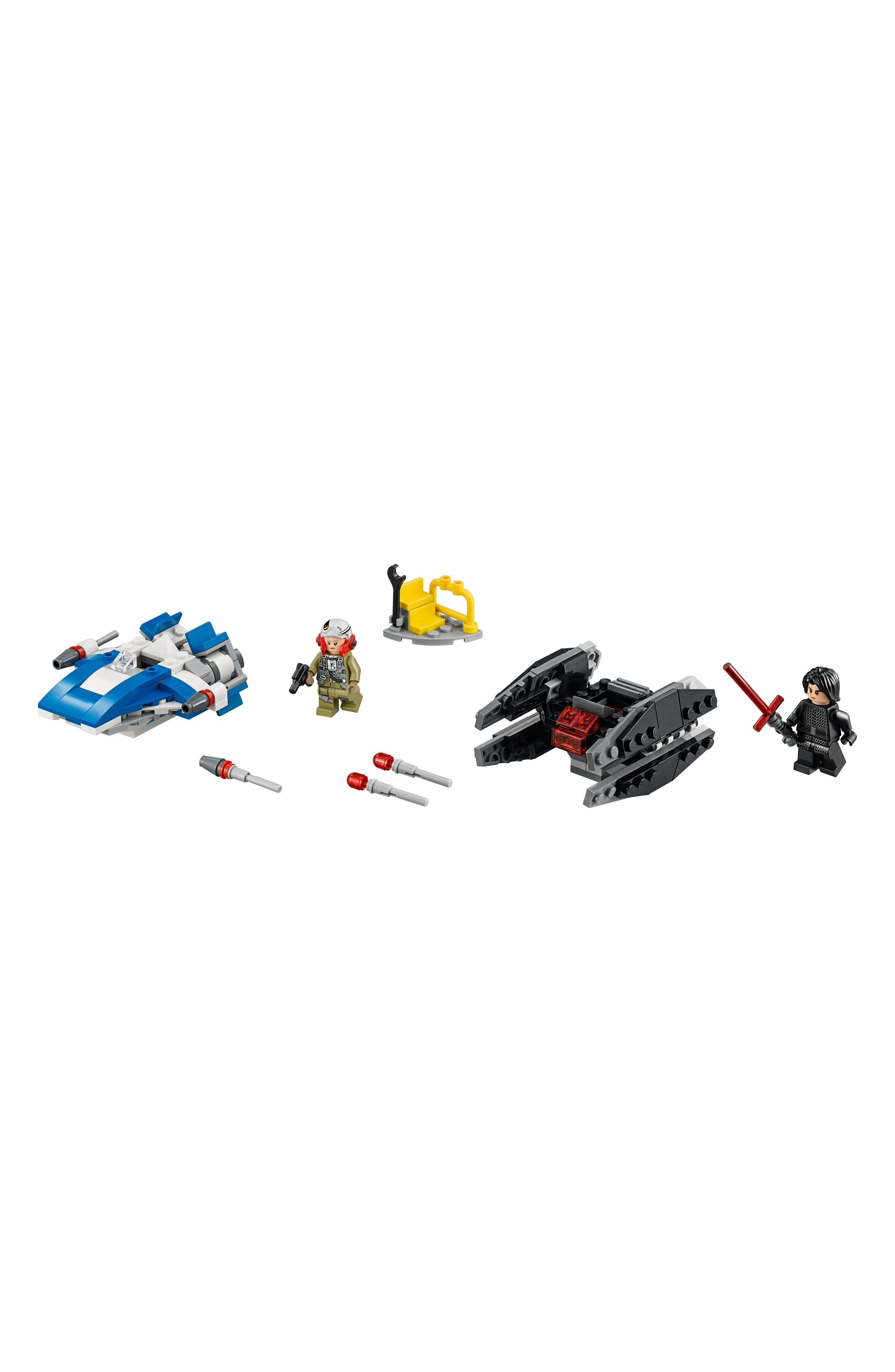 Star Wars<sup>®</sup> A-Wing vs. TIE Silencer Microfighters - 38602,                         Main,                         color, MULTI