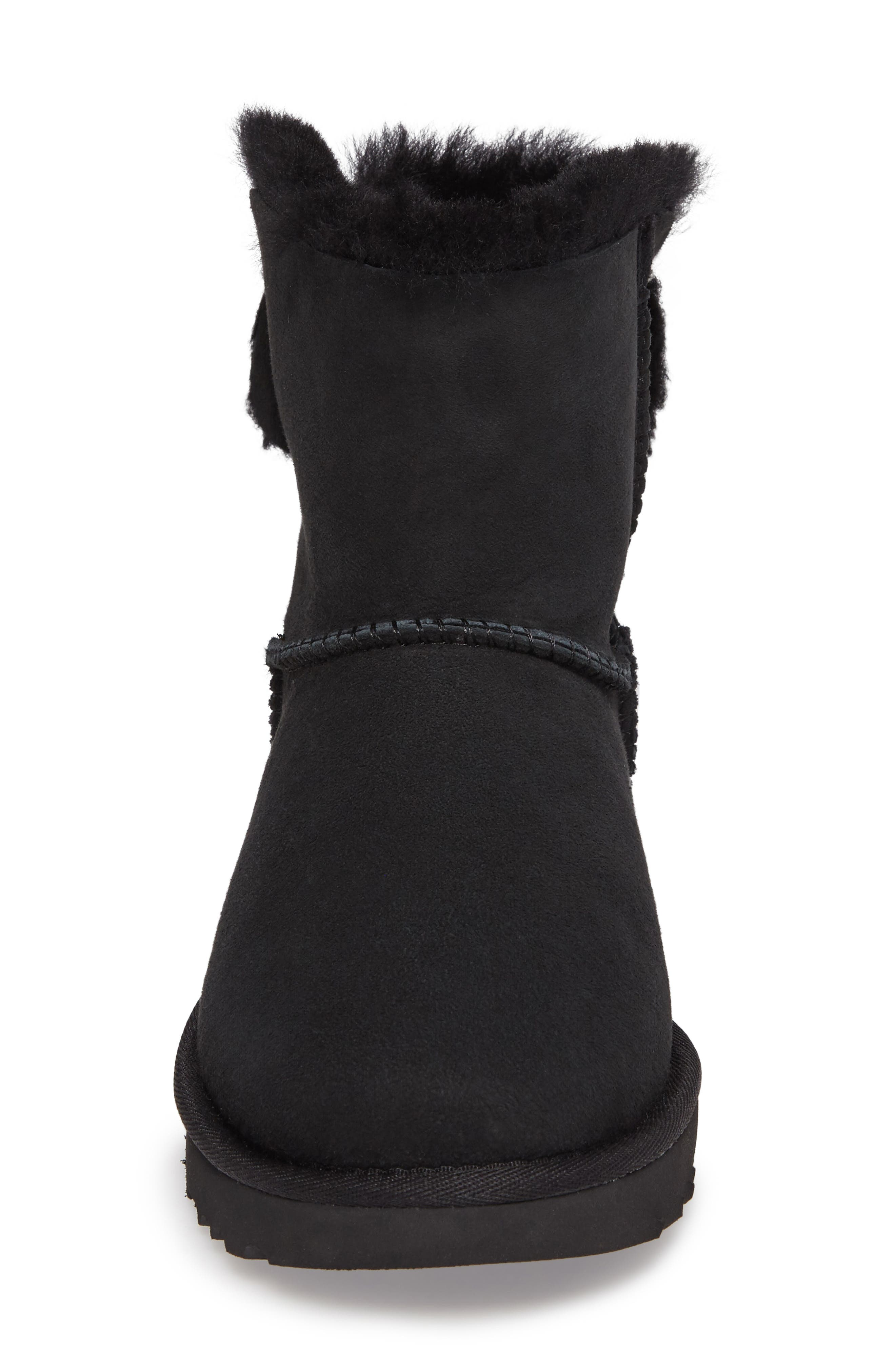 Arielle Genuine Shearling Bootie,                             Alternate thumbnail 10, color,