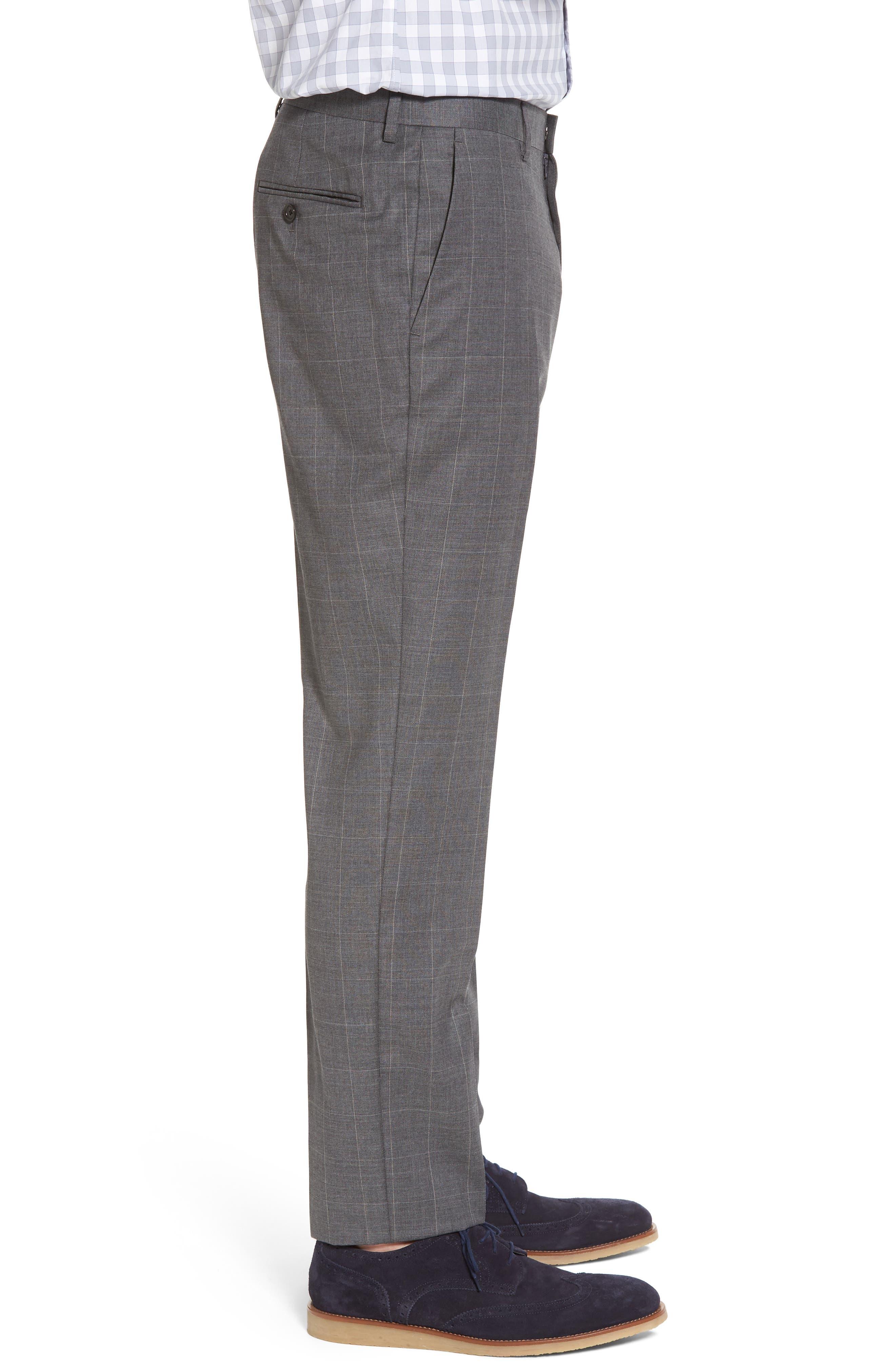 Ludlow Wool Blend Pants,                             Alternate thumbnail 3, color,