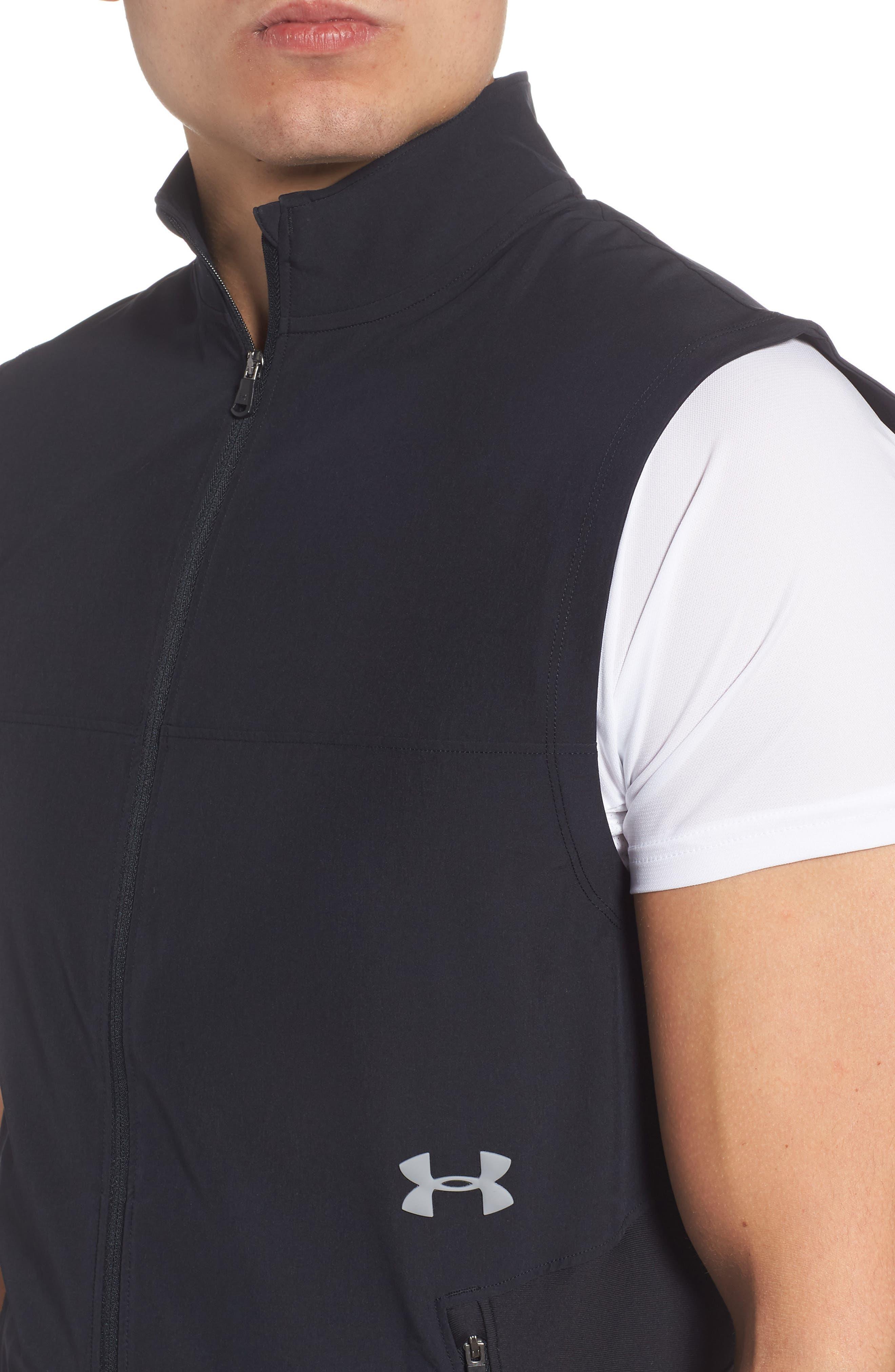 Threadborne Vanish Vest,                             Alternate thumbnail 4, color,                             001