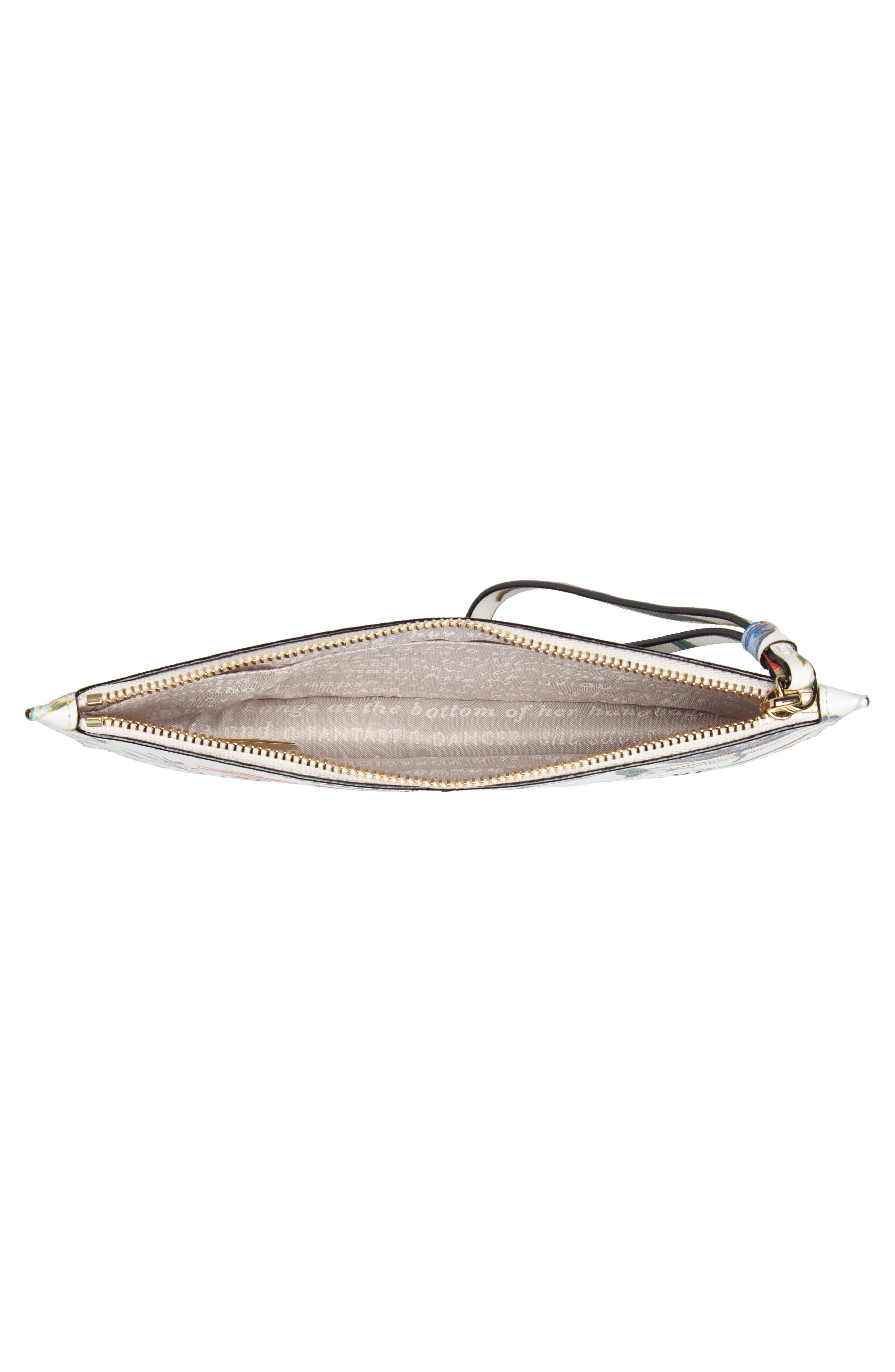 cameron street blossom ariah coated canvas pouch,                             Alternate thumbnail 4, color,                             100