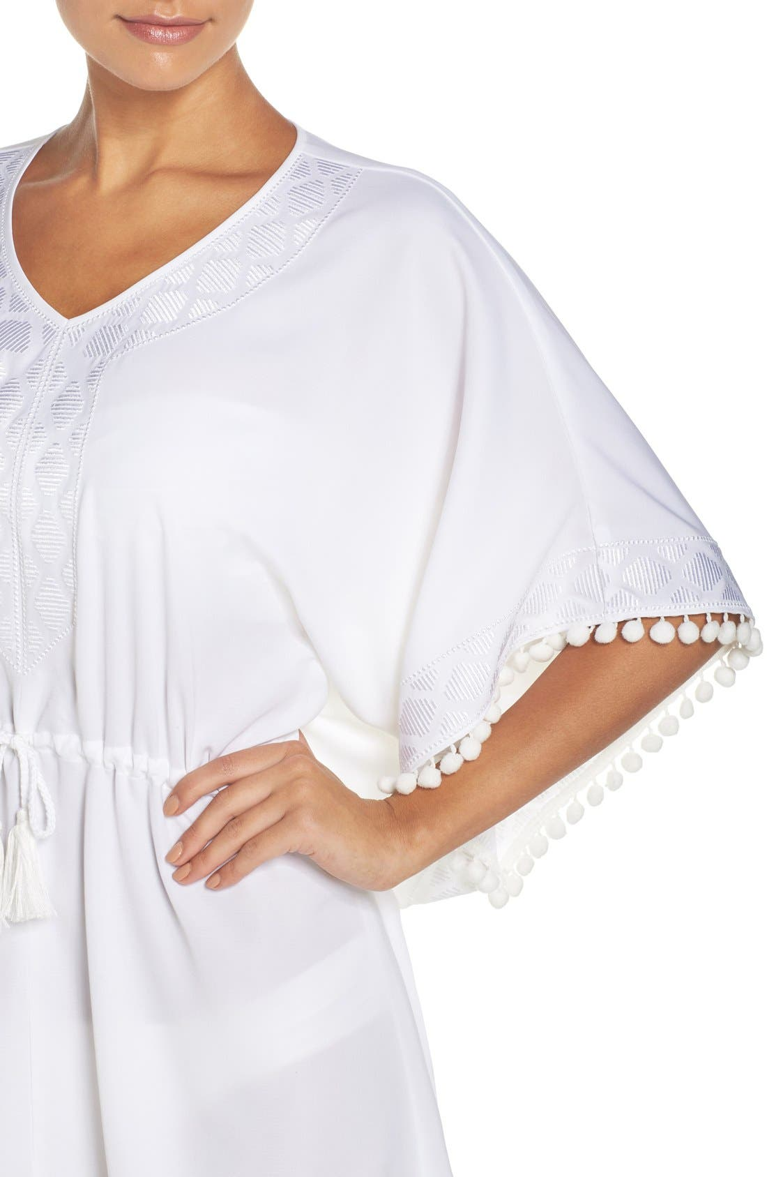 UPF 50 Tunic Cover-Up,                             Alternate thumbnail 7, color,