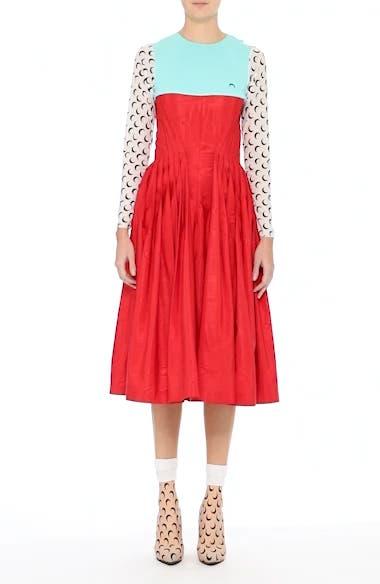 Hybrid Moiré Dress, video thumbnail